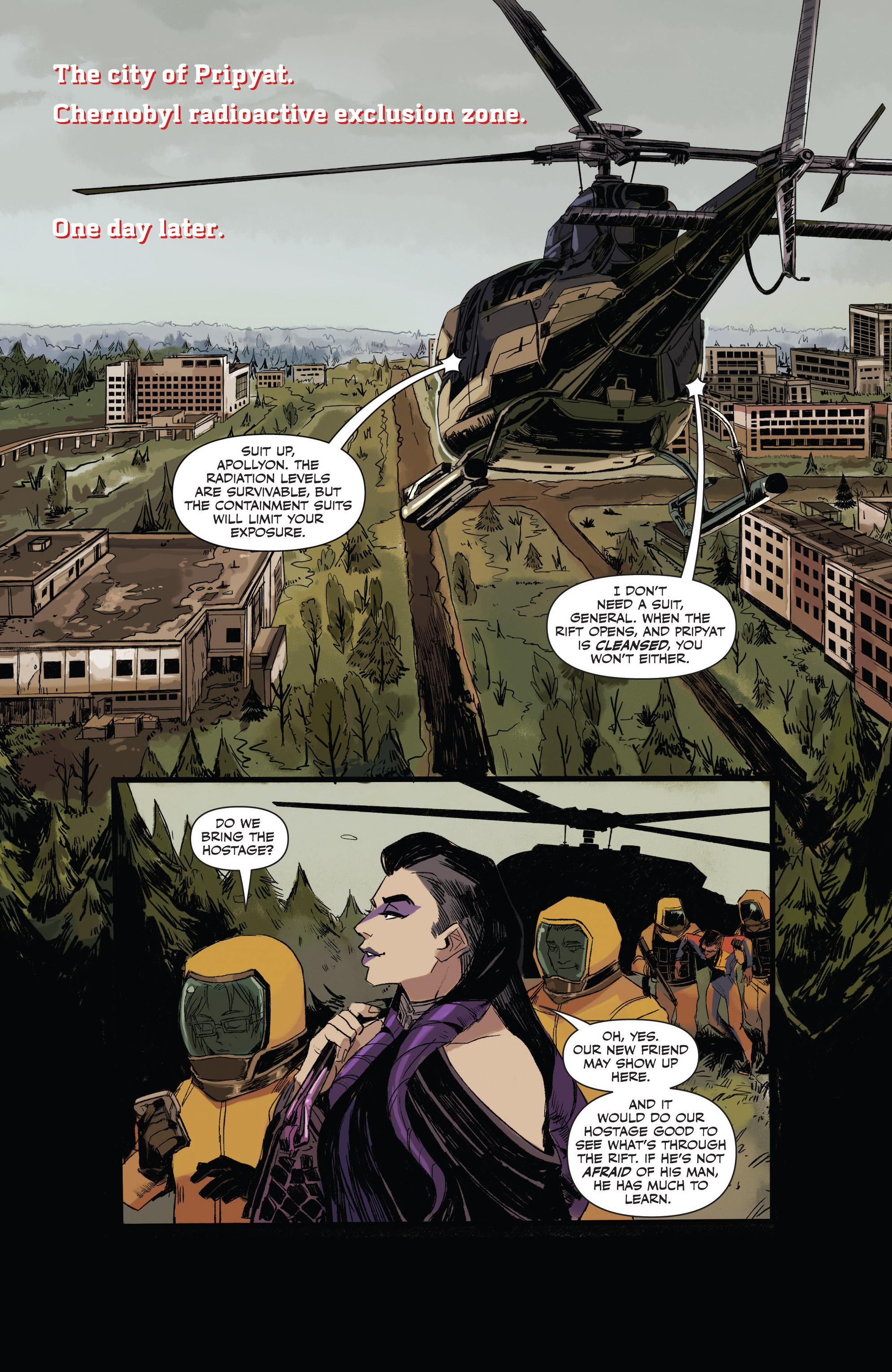 Read online Freelance comic -  Issue #3 - 16