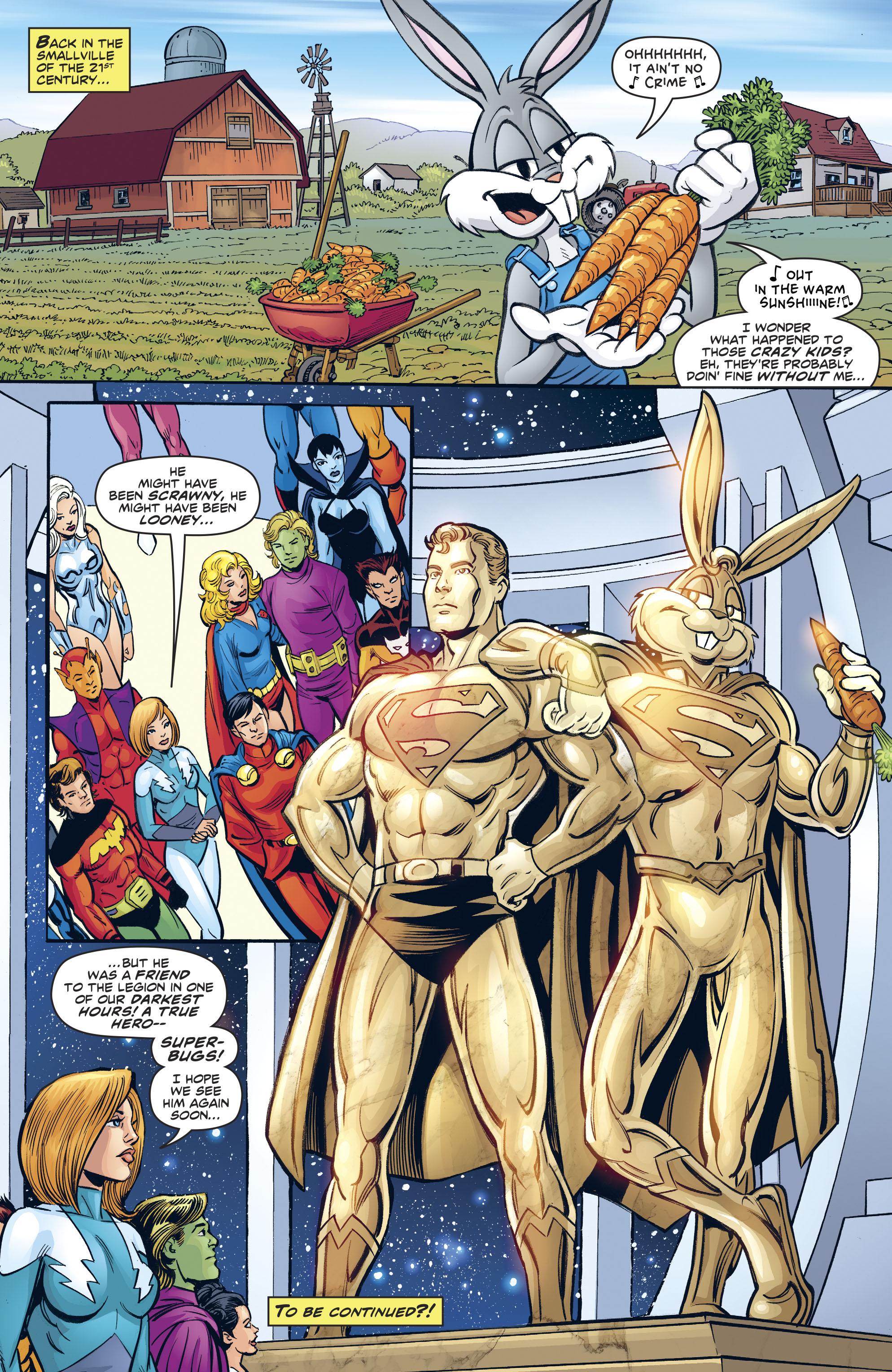 Read online Legion of Super-Heroes/Bugs Bunny Special comic -  Issue # Full - 33