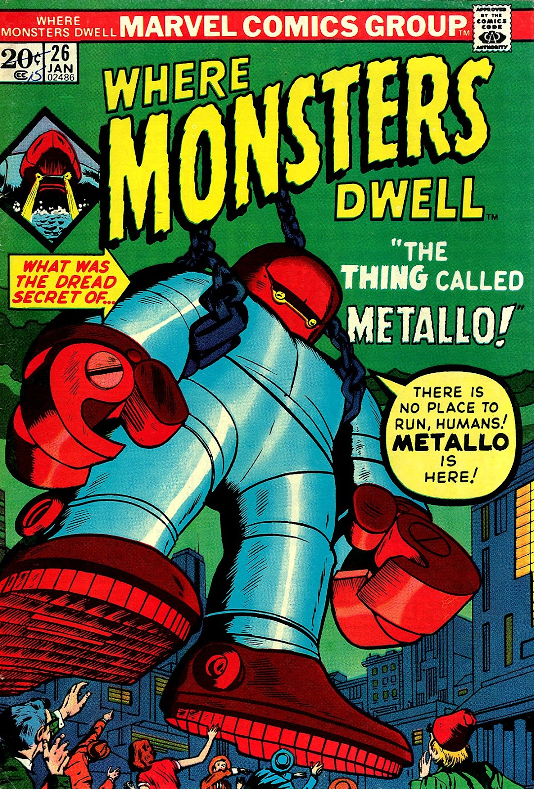 Where Monsters Dwell (1970) issue 26 - Page 1
