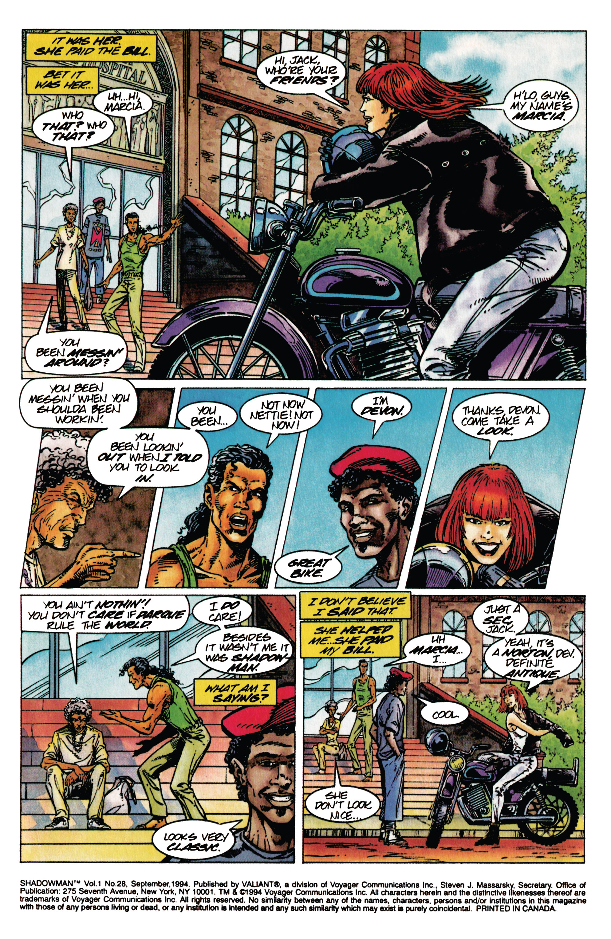 Read online Shadowman (1992) comic -  Issue #28 - 4