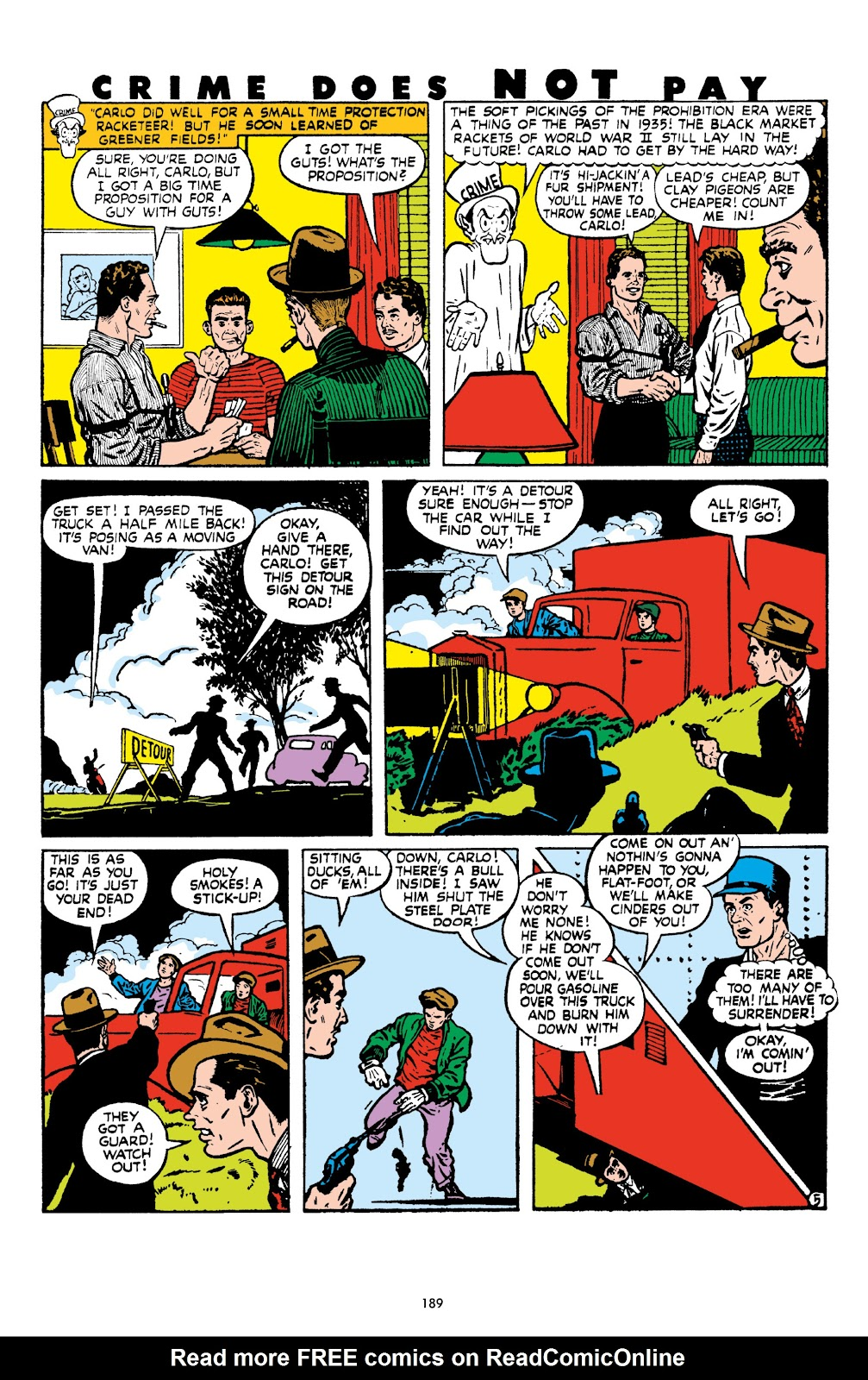 Read online Crime Does Not Pay Archives comic -  Issue # TPB 8 (Part 2) - 90