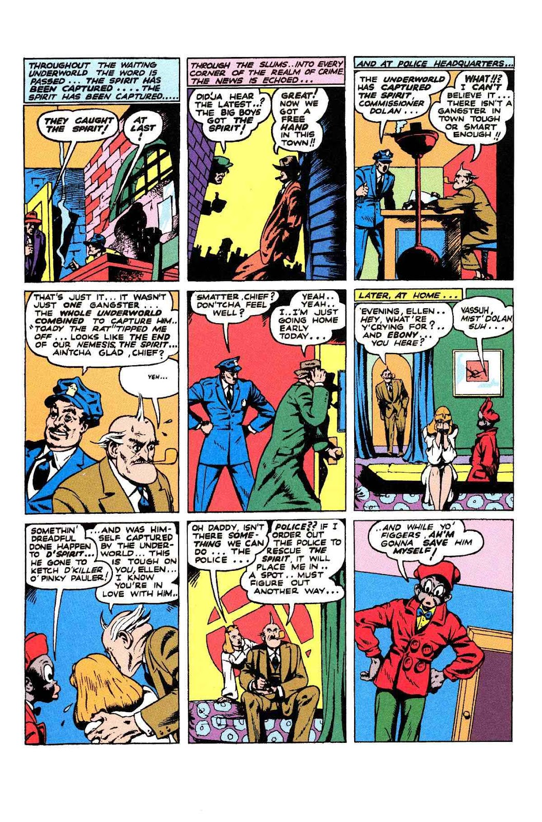 Read online Will Eisner's The Spirit Archives comic -  Issue # TPB 2 (Part 1) - 100
