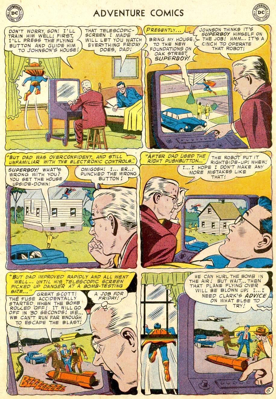 Read online Adventure Comics (1938) comic -  Issue #251 - 7