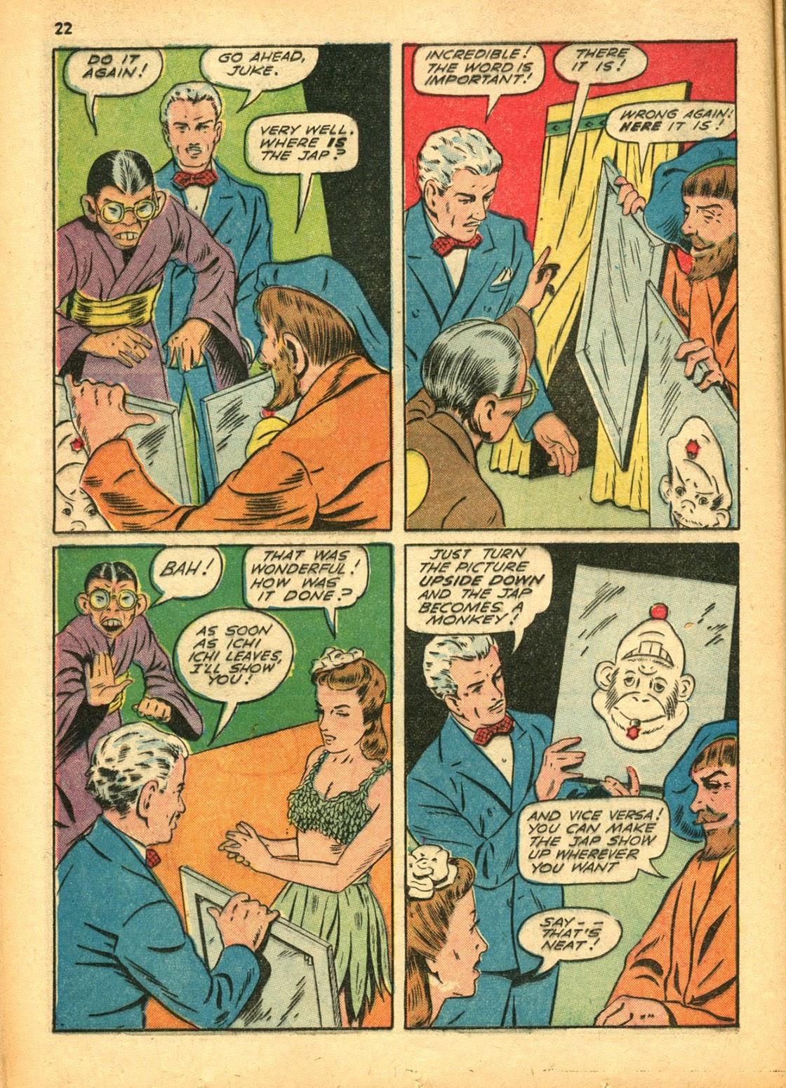 Read online Super-Magician Comics comic -  Issue #15 - 22