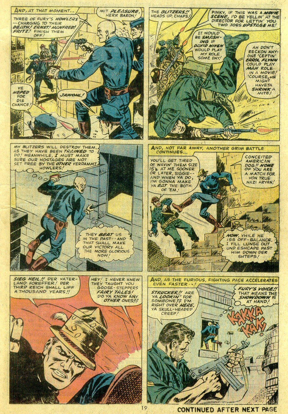 Read online Sgt. Fury comic -  Issue #122 - 21