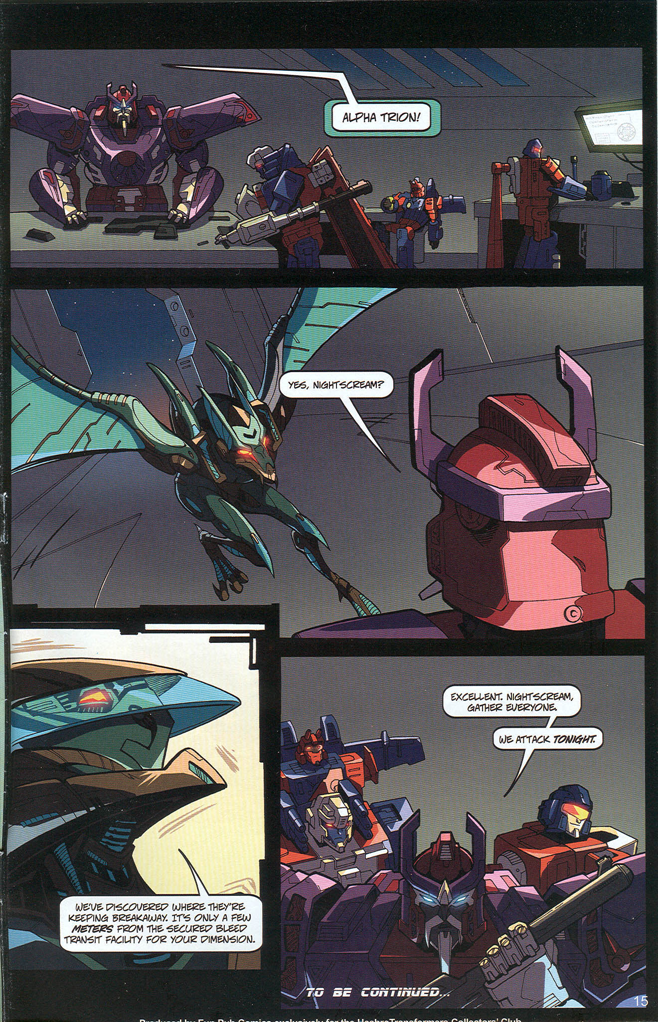 Read online Transformers: Collectors' Club comic -  Issue #22 - 15