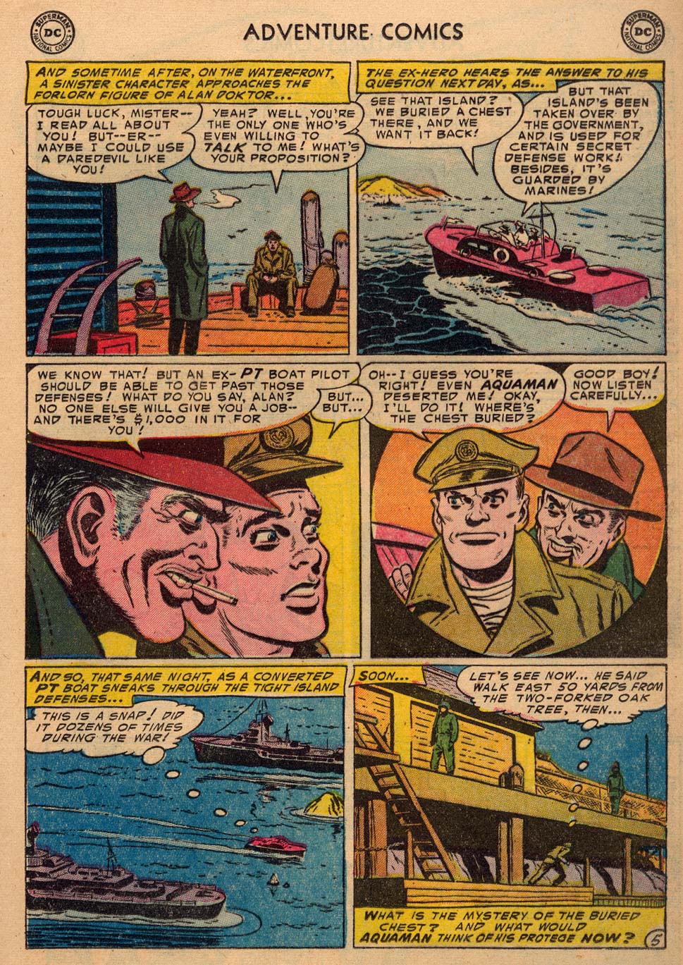 Read online Adventure Comics (1938) comic -  Issue #198 - 21