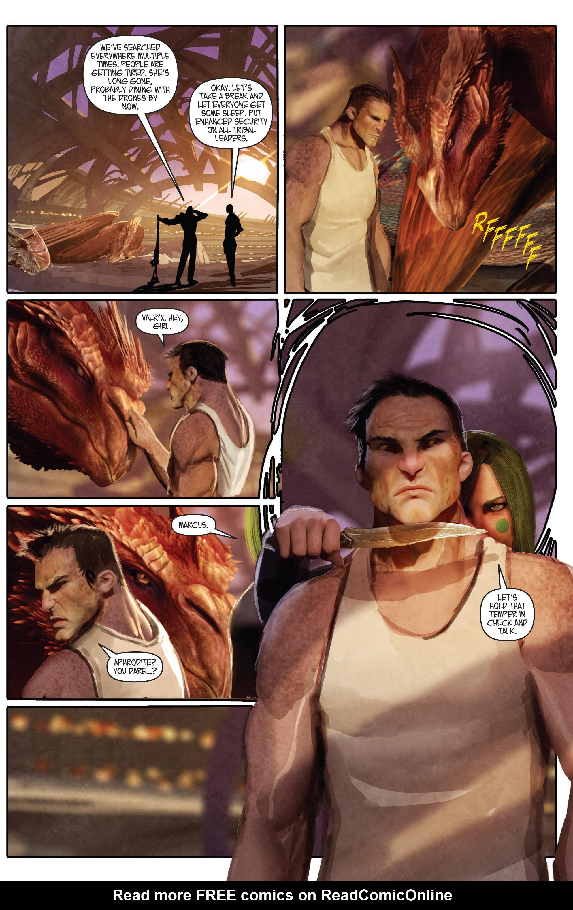 Read online Aphrodite IX (2013) comic -  Issue #Aphrodite IX (2013) _TPB 1 - 74