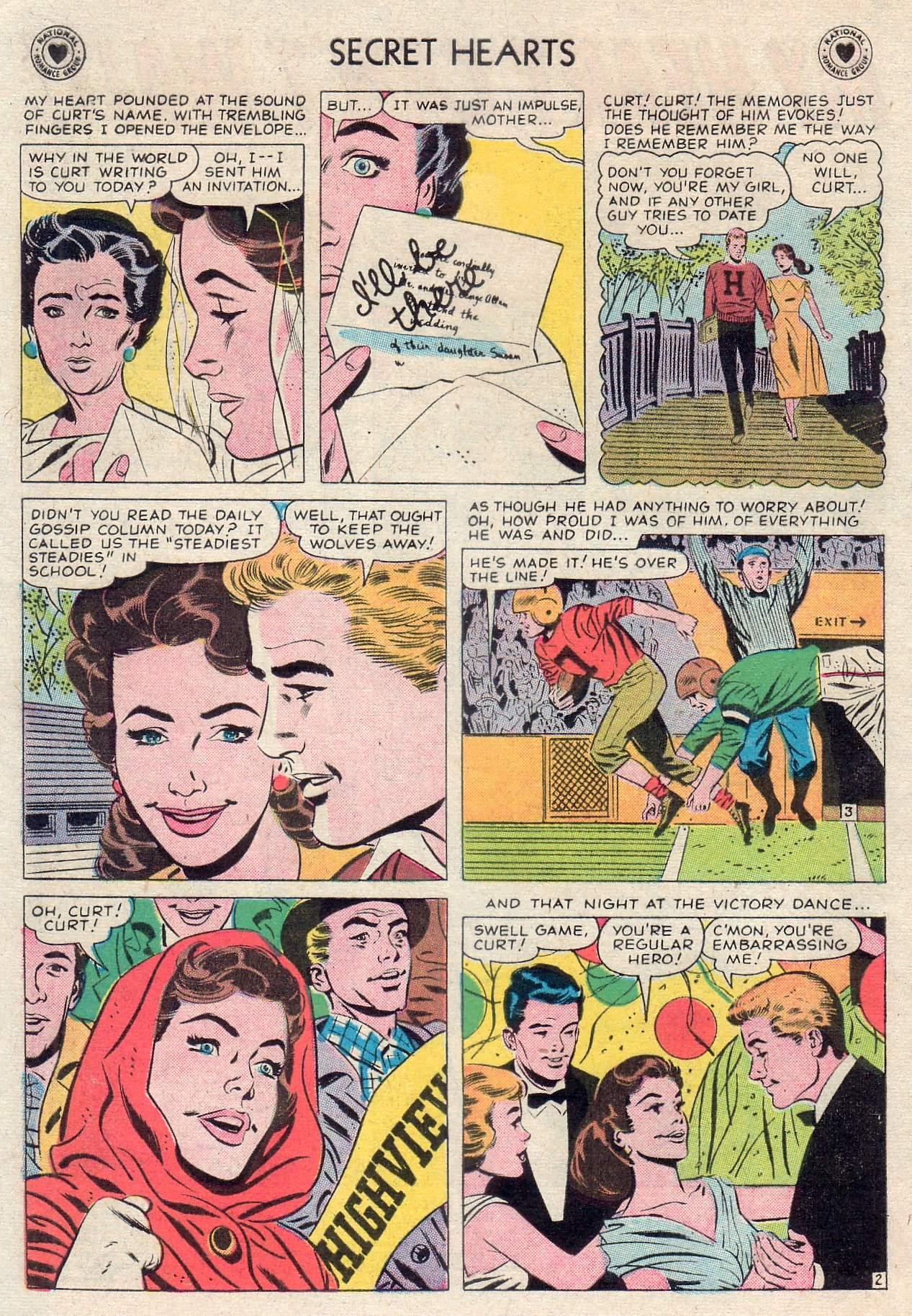 Read online Secret Hearts comic -  Issue #46 - 4