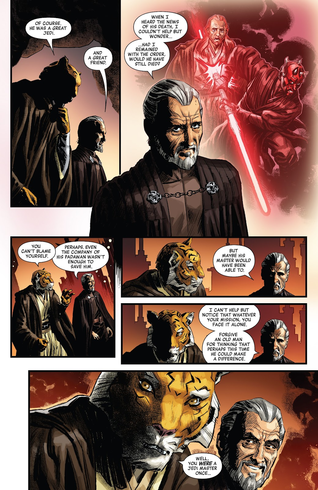 Read online Star Wars: Age of Republic - Count Dooku comic -  Issue # Full - 13