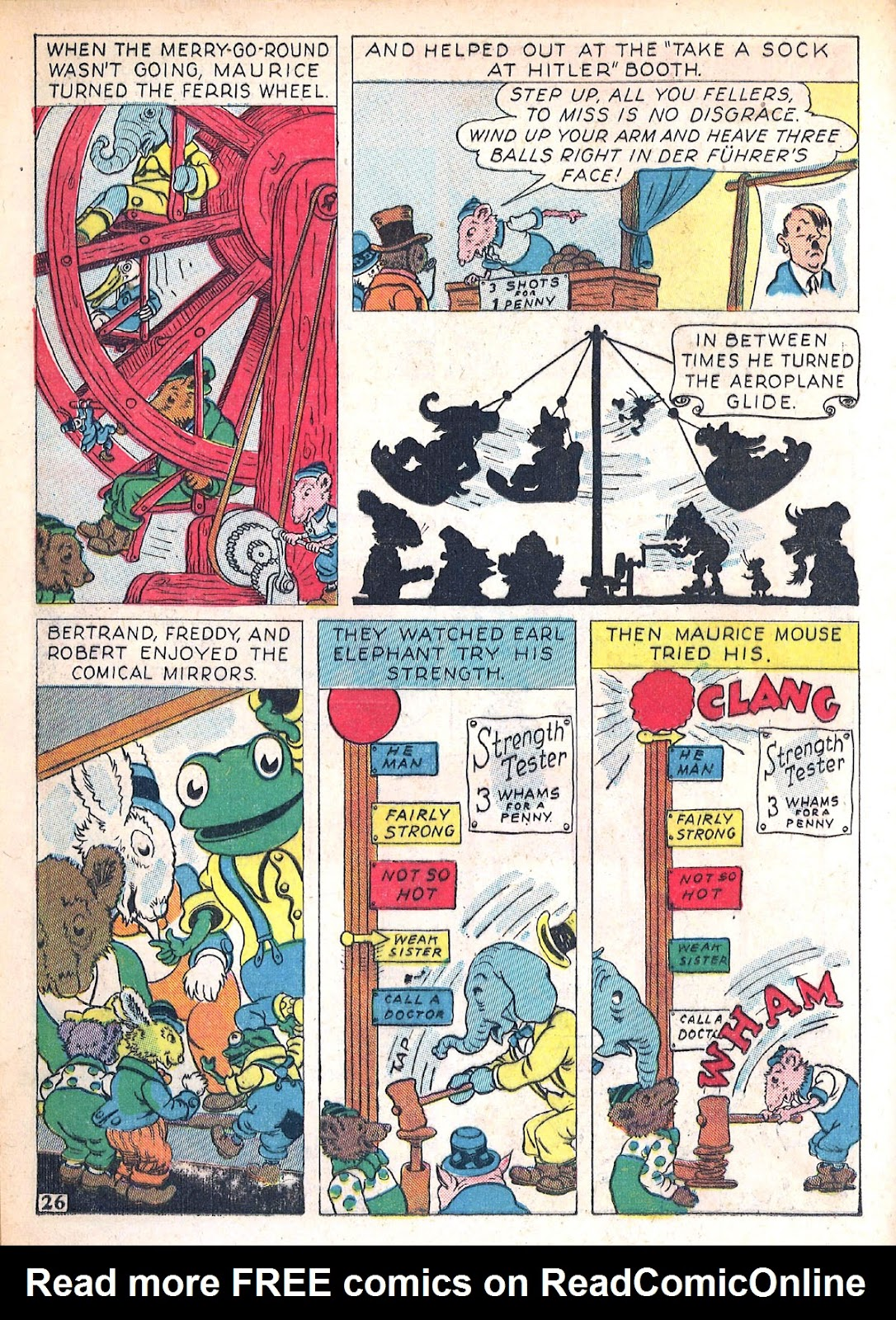 Read online Animal Comics comic -  Issue #4 - 29