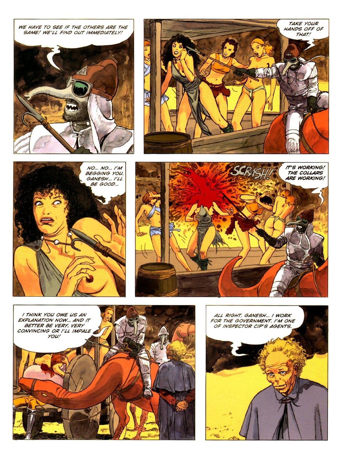 Read online Piranese The Prison Planet comic -  Issue # Full - 27