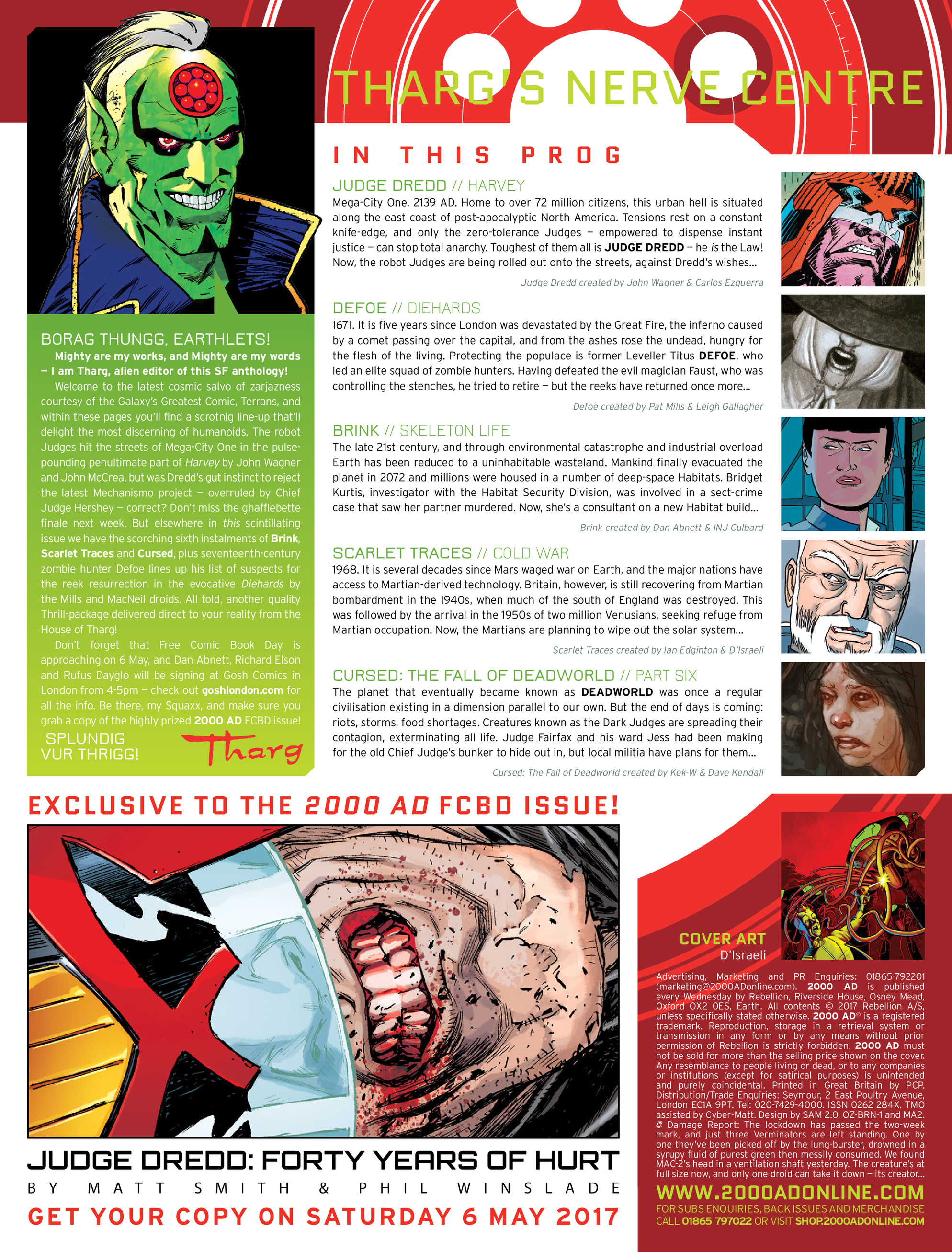 Read online 2000 AD comic -  Issue #2028 - 2