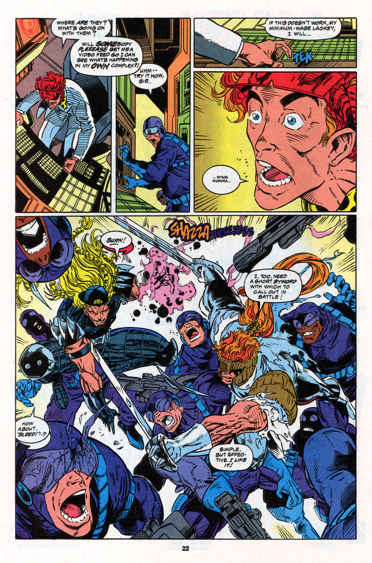 Read online X-Force (1991) comic -  Issue #30 - 23