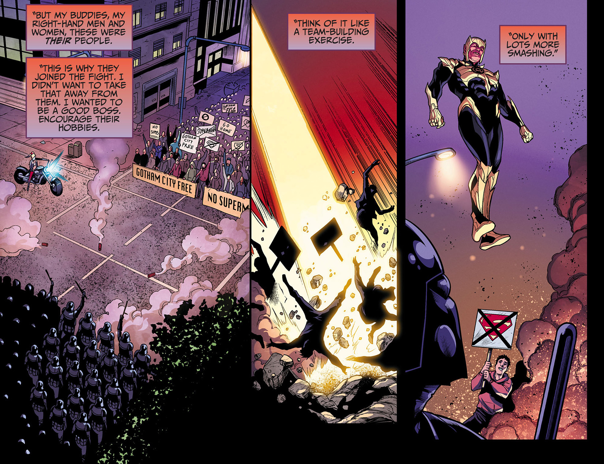 Read online Injustice: Ground Zero comic -  Issue #3 - 15