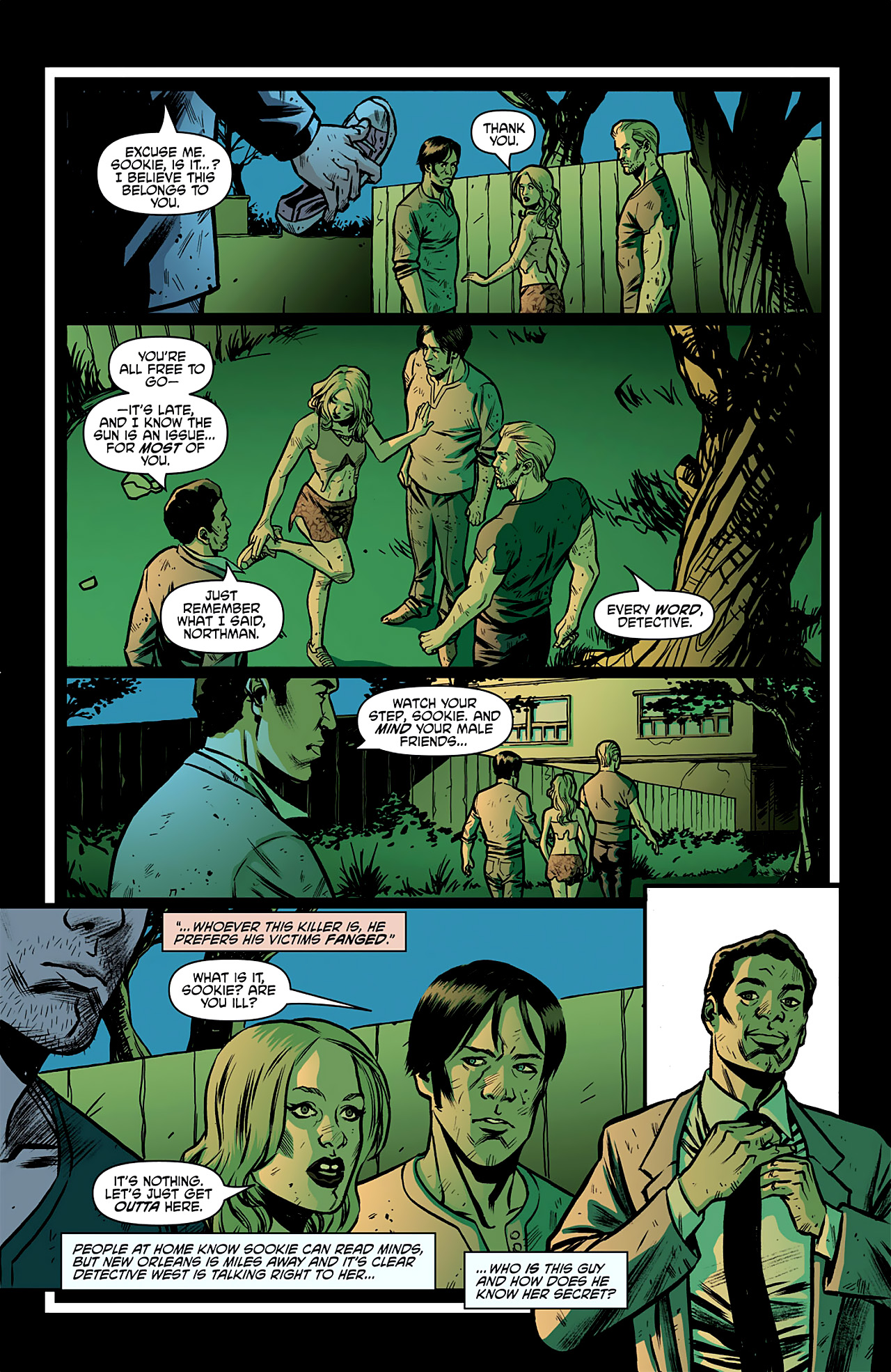 Read online True Blood: French Quarter comic -  Issue #2 - 8