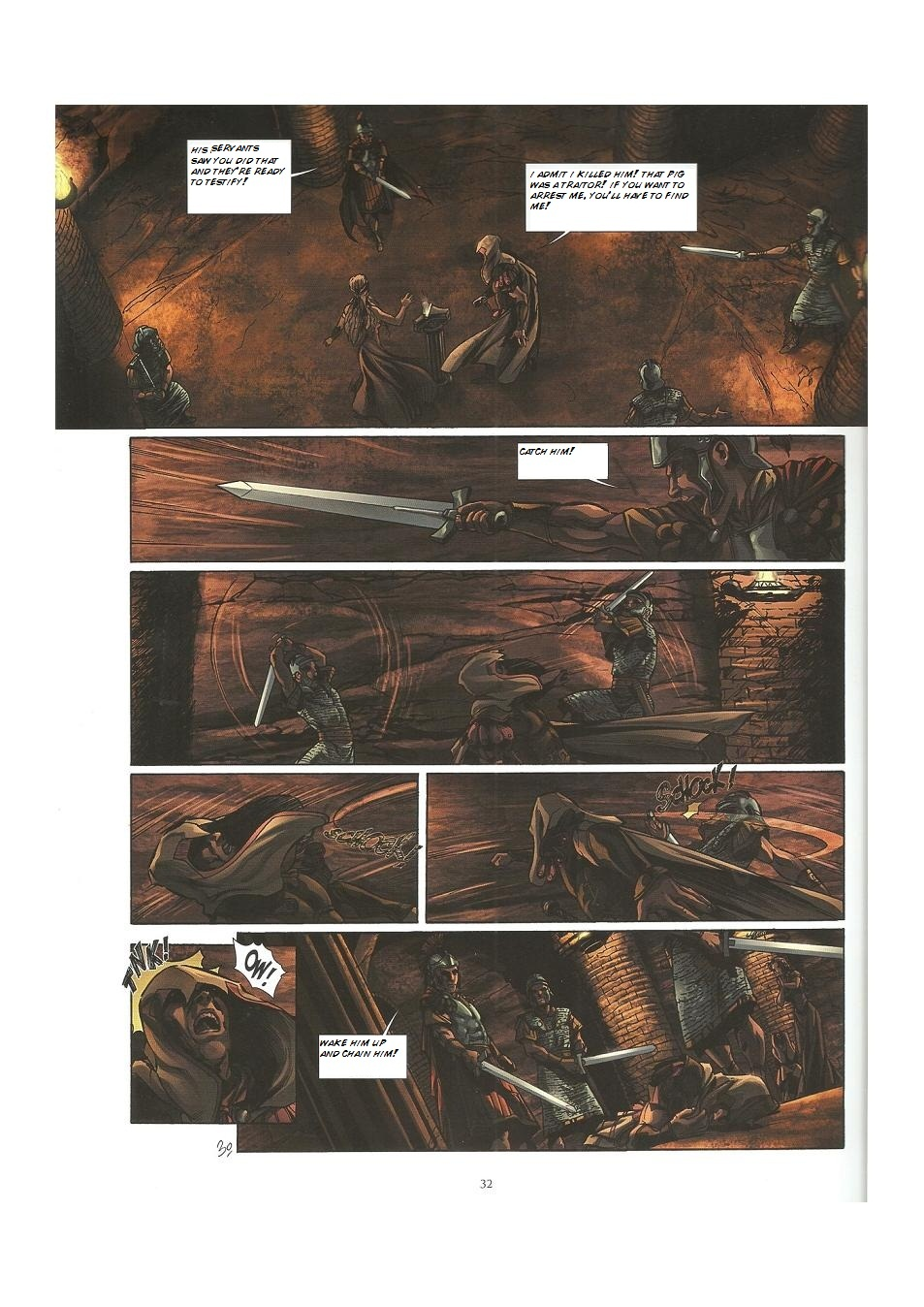 Read online Assassin's Creed (2009) comic -  Issue #3 - 32