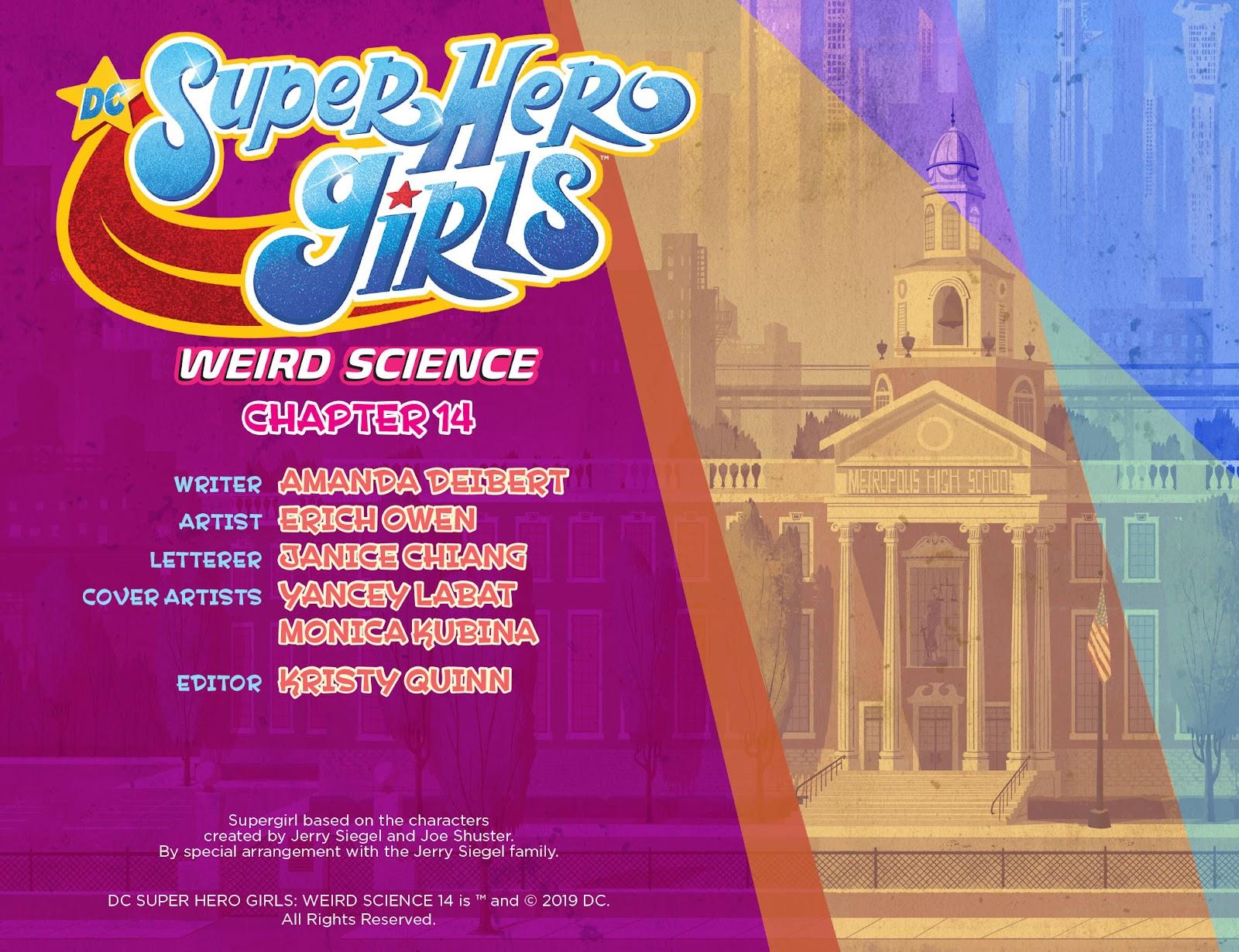 Read online DC Super Hero Girls: Weird Science comic -  Issue #14 - 3