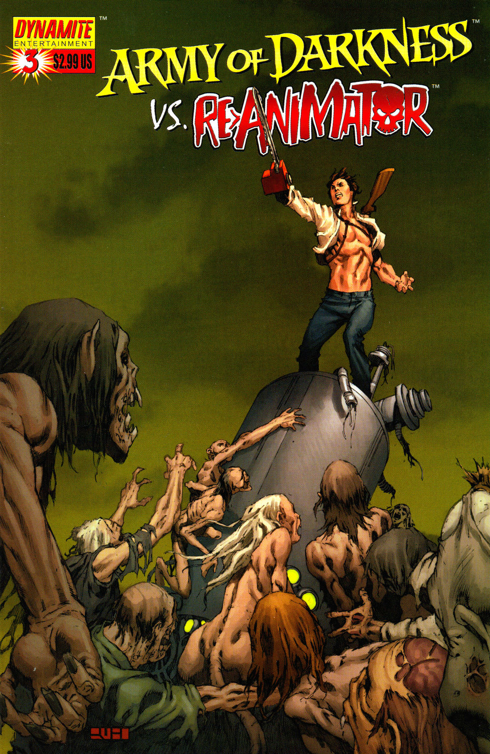 Read online Army of Darkness vs. Re-Animator comic -  Issue #3 - 3
