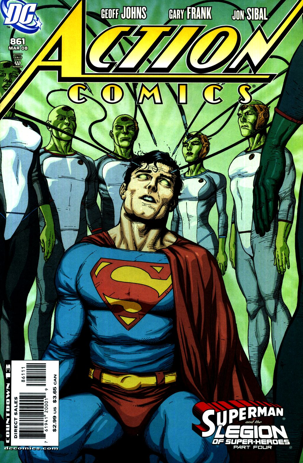 Read online Action Comics (1938) comic -  Issue #861 - 1