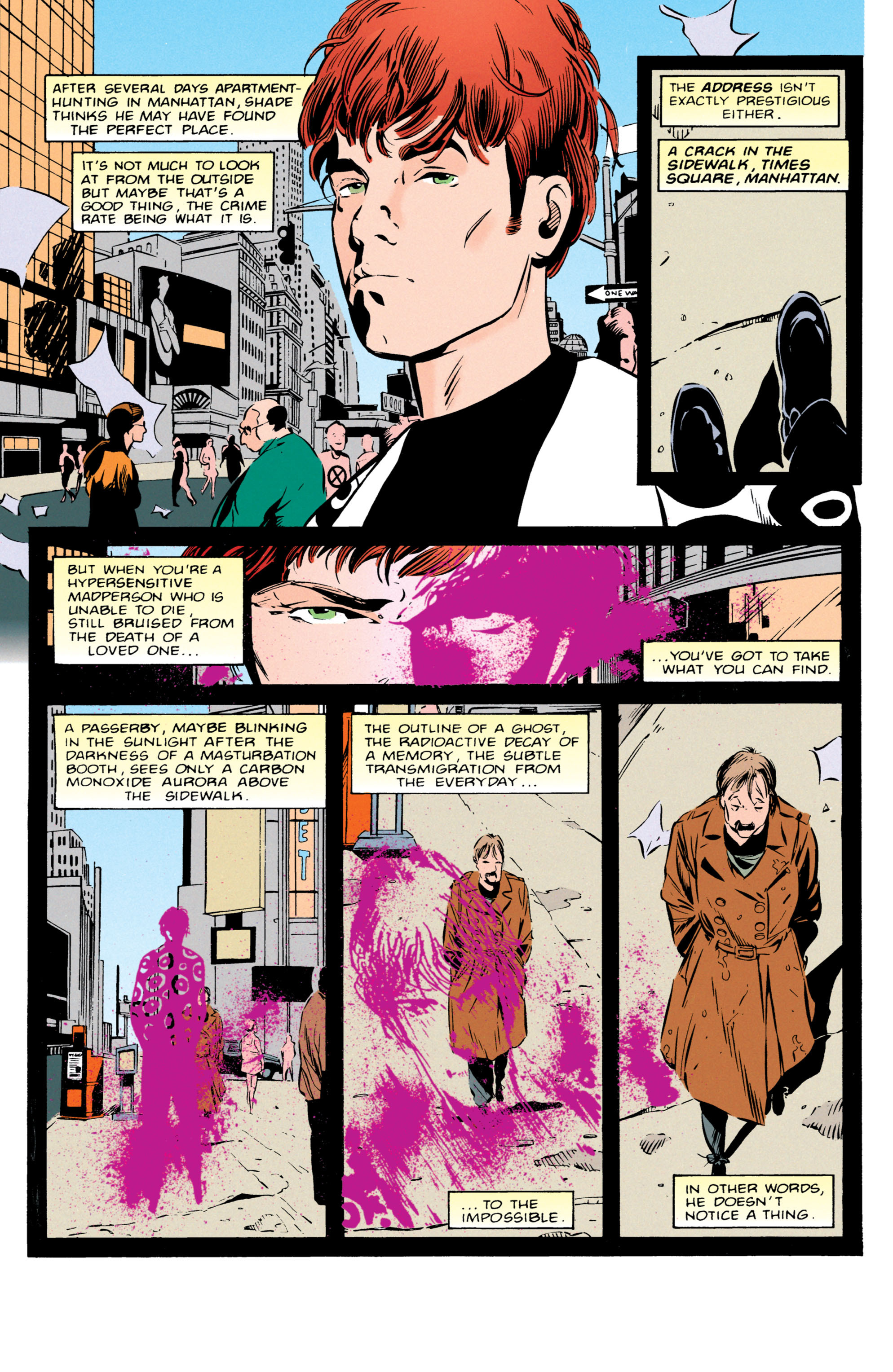 Read online Shade, the Changing Man comic -  Issue #55 - 2