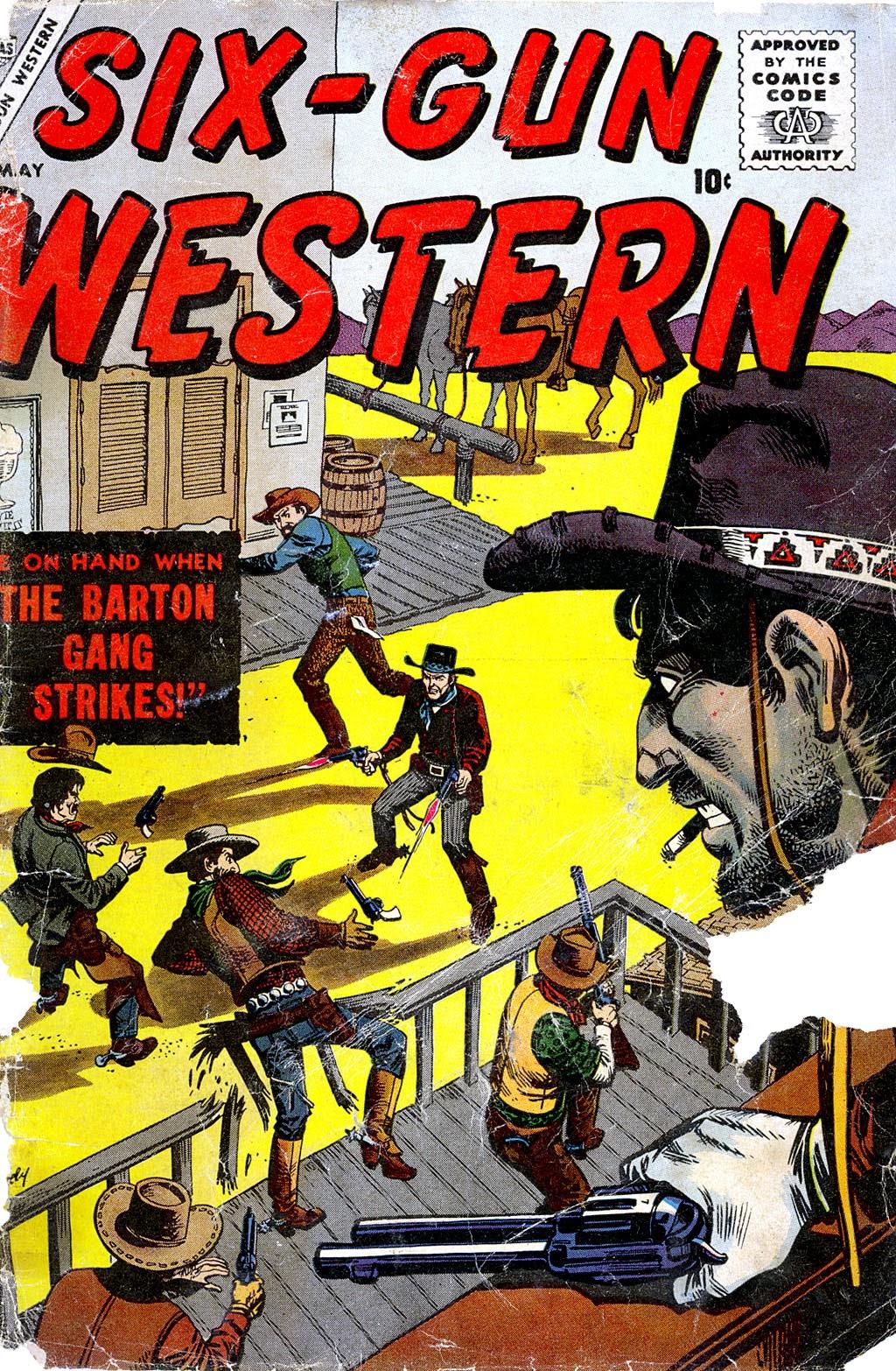 Six-Gun Western 3 Page 1