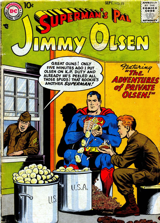 Supermans Pal Jimmy Olsen (1954) 23 Page 1