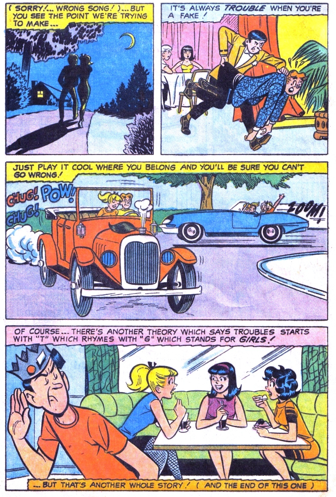 Read online Archie (1960) comic -  Issue #186 - 8