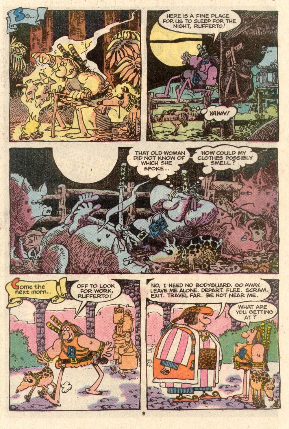 Read online Sergio Aragonés Groo the Wanderer comic -  Issue #46 - 9