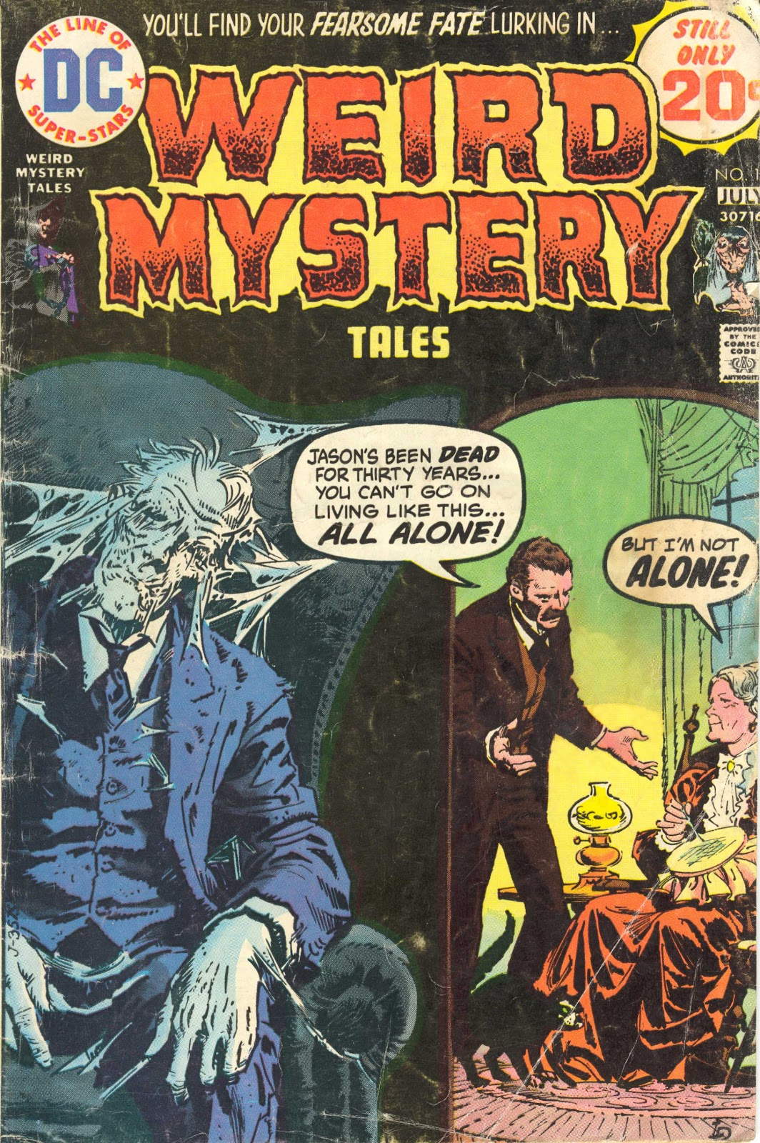 Weird Mystery Tales issue 12 - Page 1