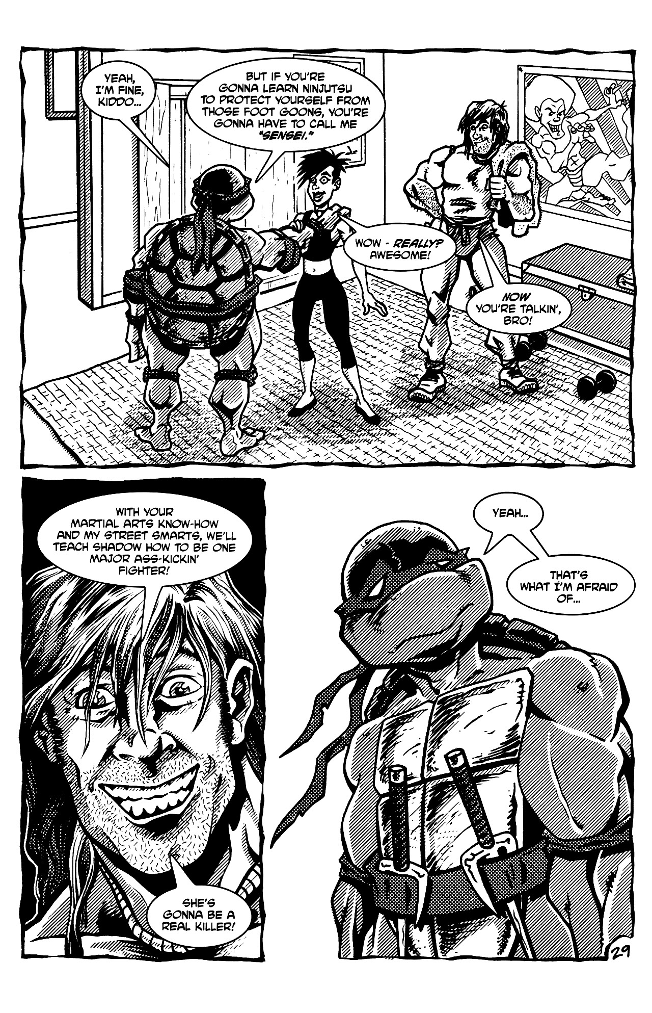 Read online Tales of the TMNT comic -  Issue #69 - 32