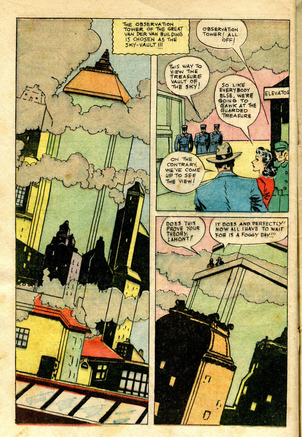 Read online Shadow Comics comic -  Issue #65 - 16