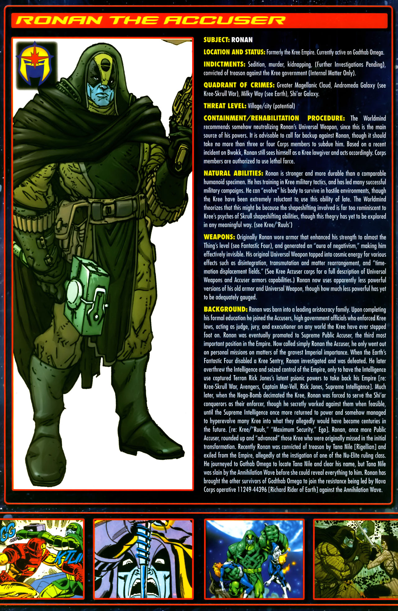Read online Annihilation:  The  Nova Corps Files comic -  Issue #Annihilation:  The  Nova Corps Files Full - 33