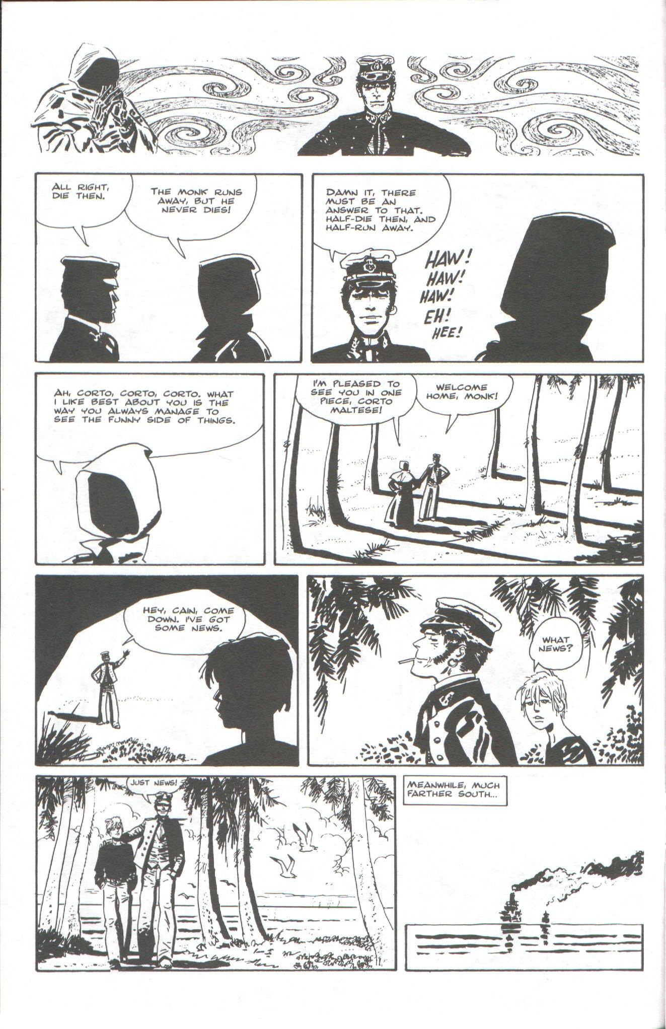 Read online Corto Maltese: Ballad of the Salt Sea comic -  Issue #6 - 8