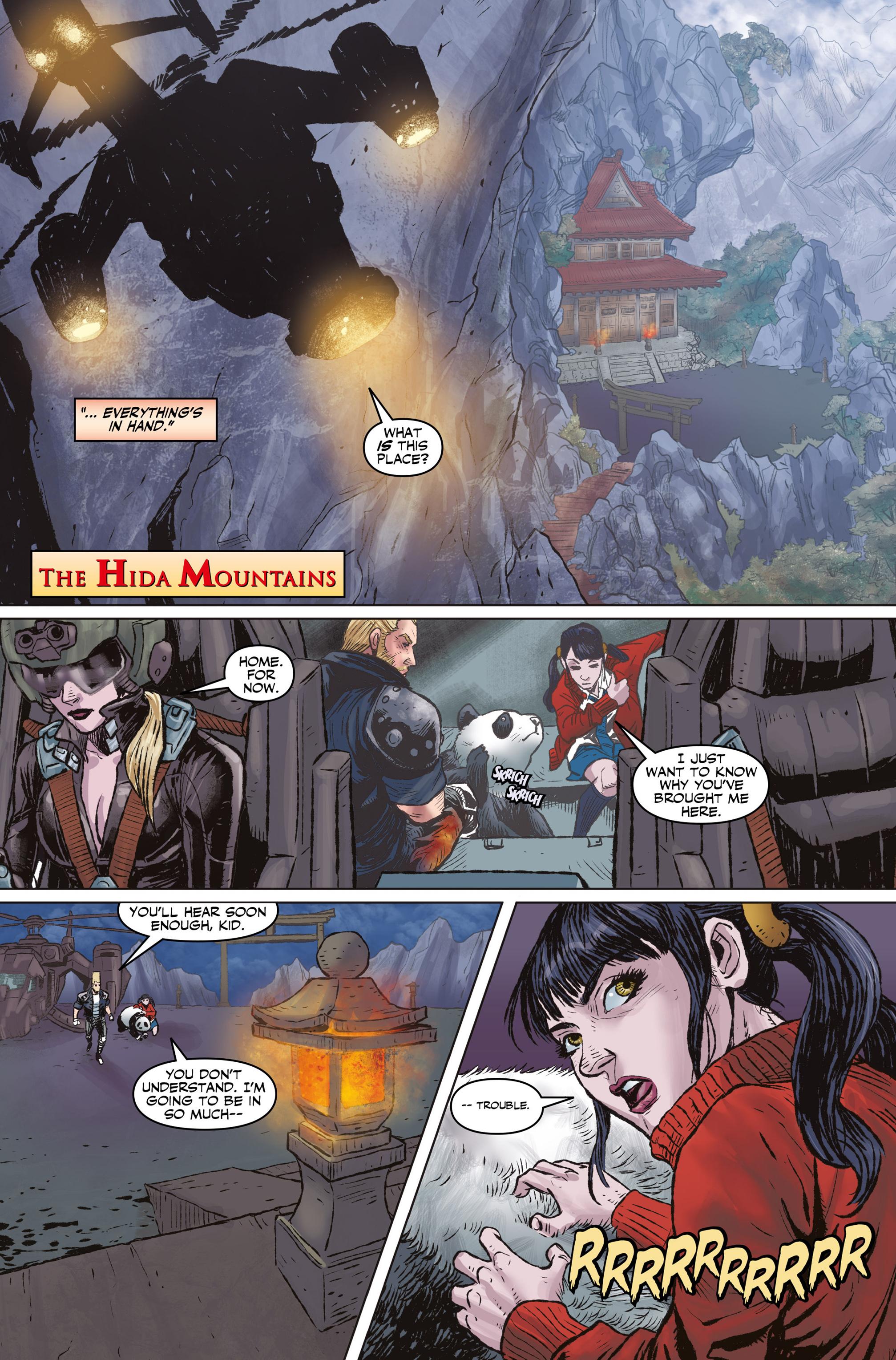 Read online Tekken comic -  Issue #1 - 23