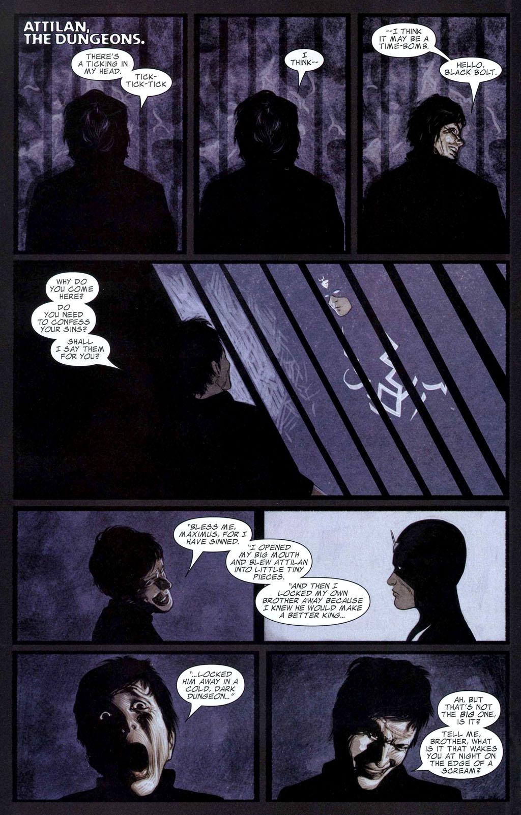 Read online Silent War comic -  Issue #2 - 11