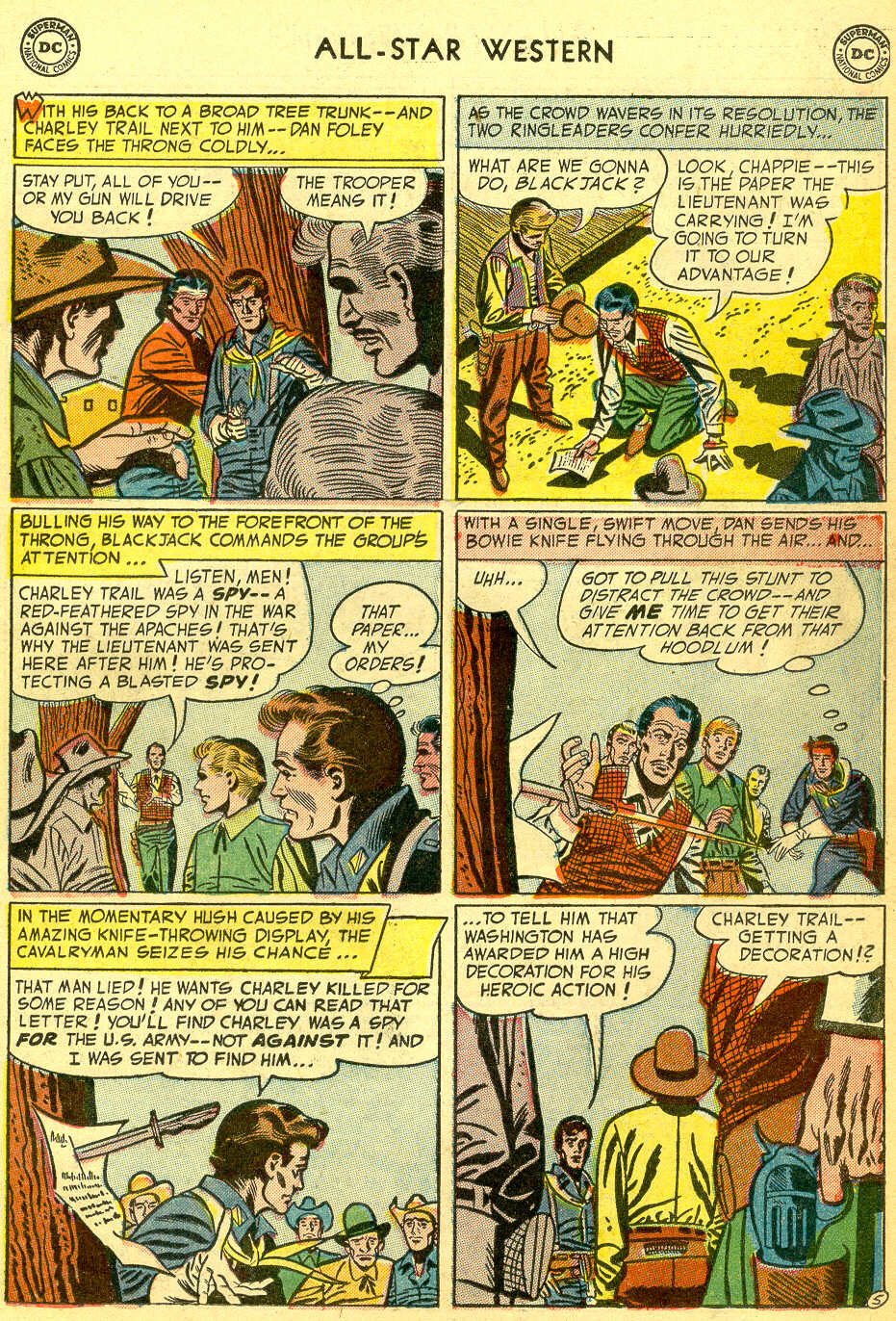 Read online All-Star Western (1951) comic -  Issue #75 - 23