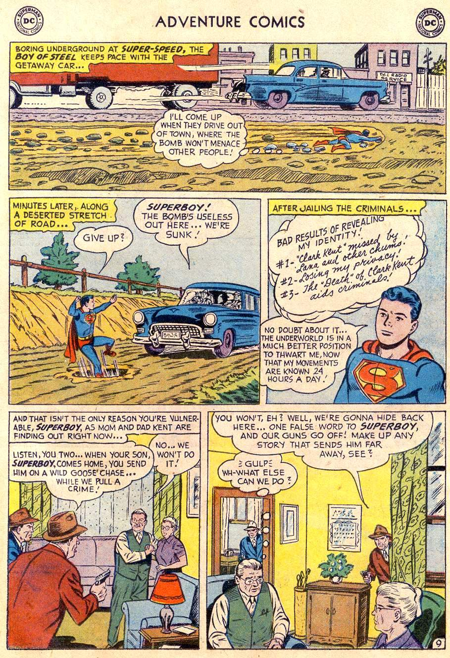 Read online Adventure Comics (1938) comic -  Issue #235 - 11