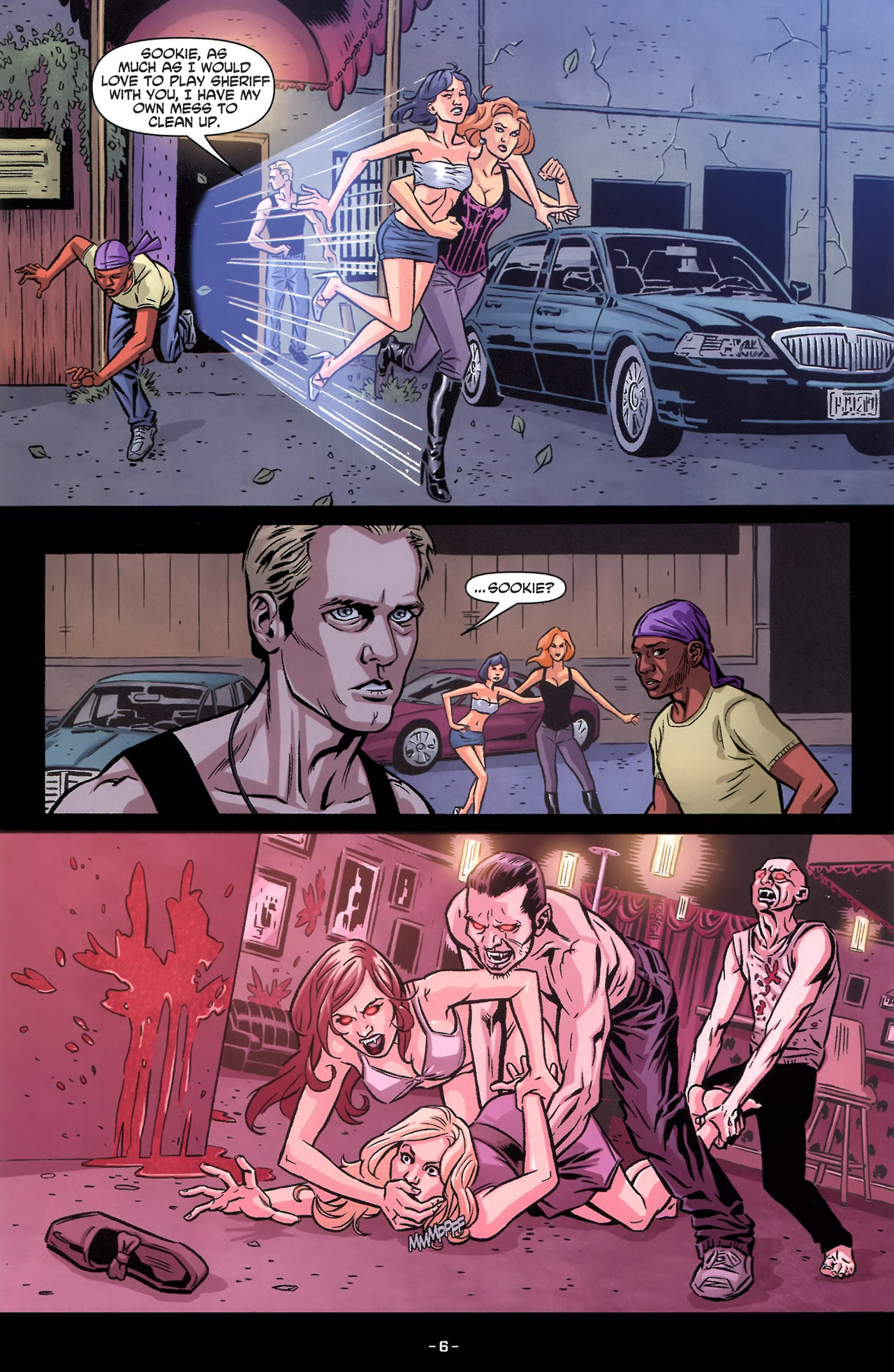 Read online True Blood: Tainted Love comic -  Issue #3 - 9