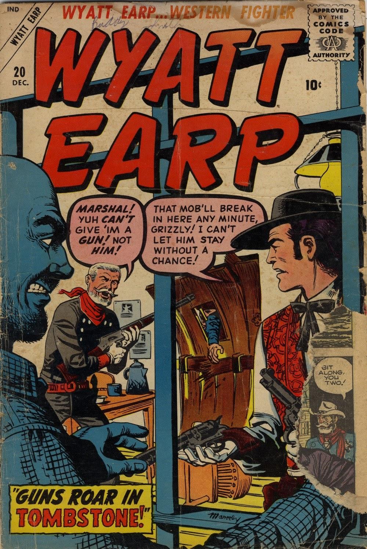 Wyatt Earp issue 20 - Page 1
