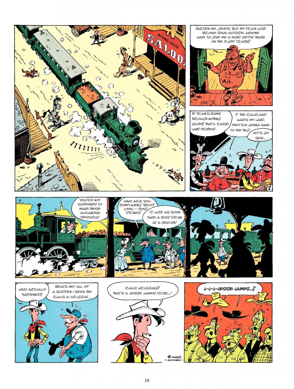 Read online A Lucky Luke Adventure comic -  Issue #4 - 18