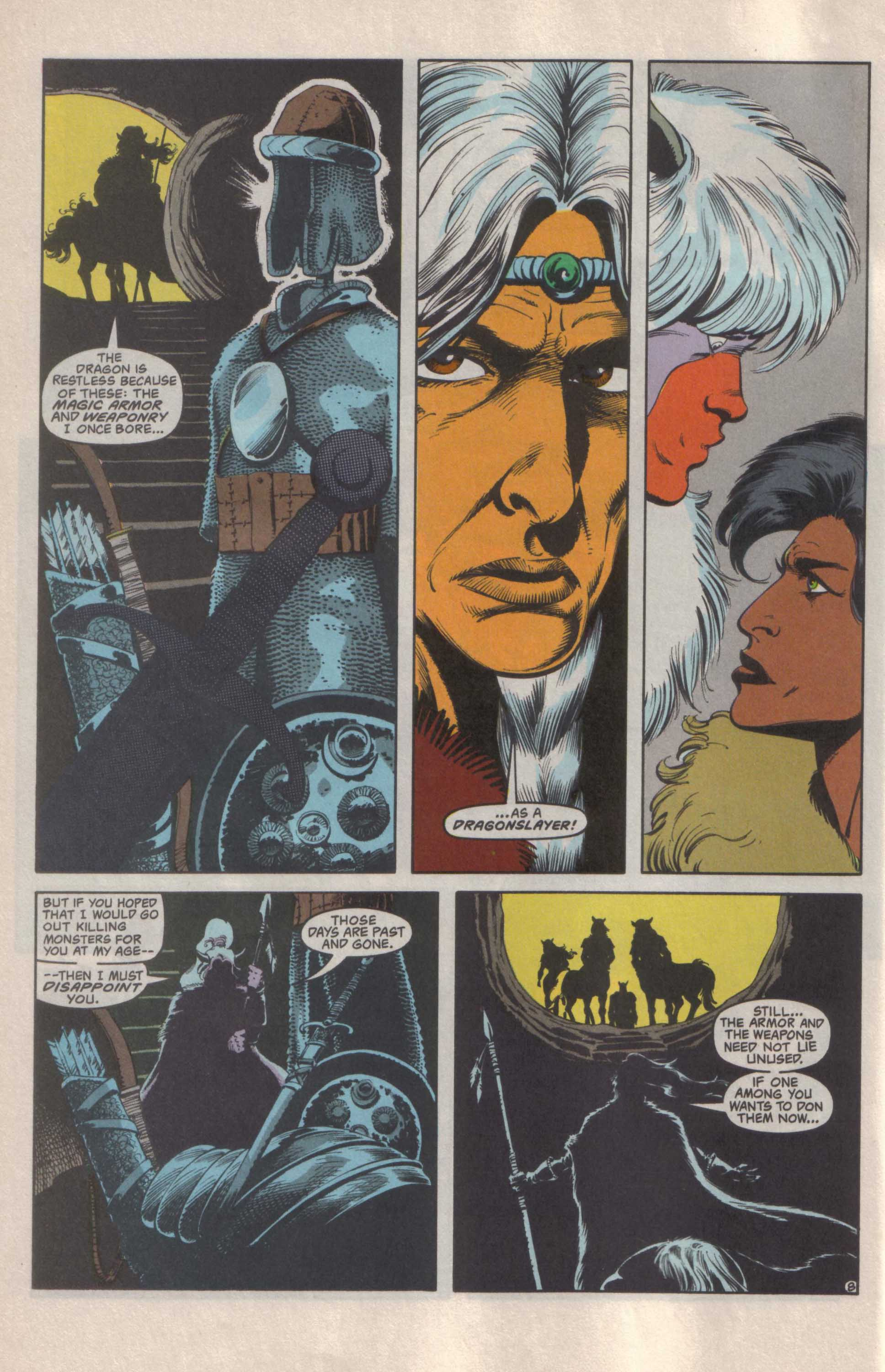 Read online Advanced Dungeons & Dragons comic -  Issue #25 - 9