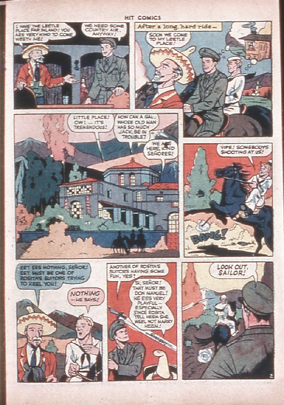 Read online Hit Comics comic -  Issue #36 - 47