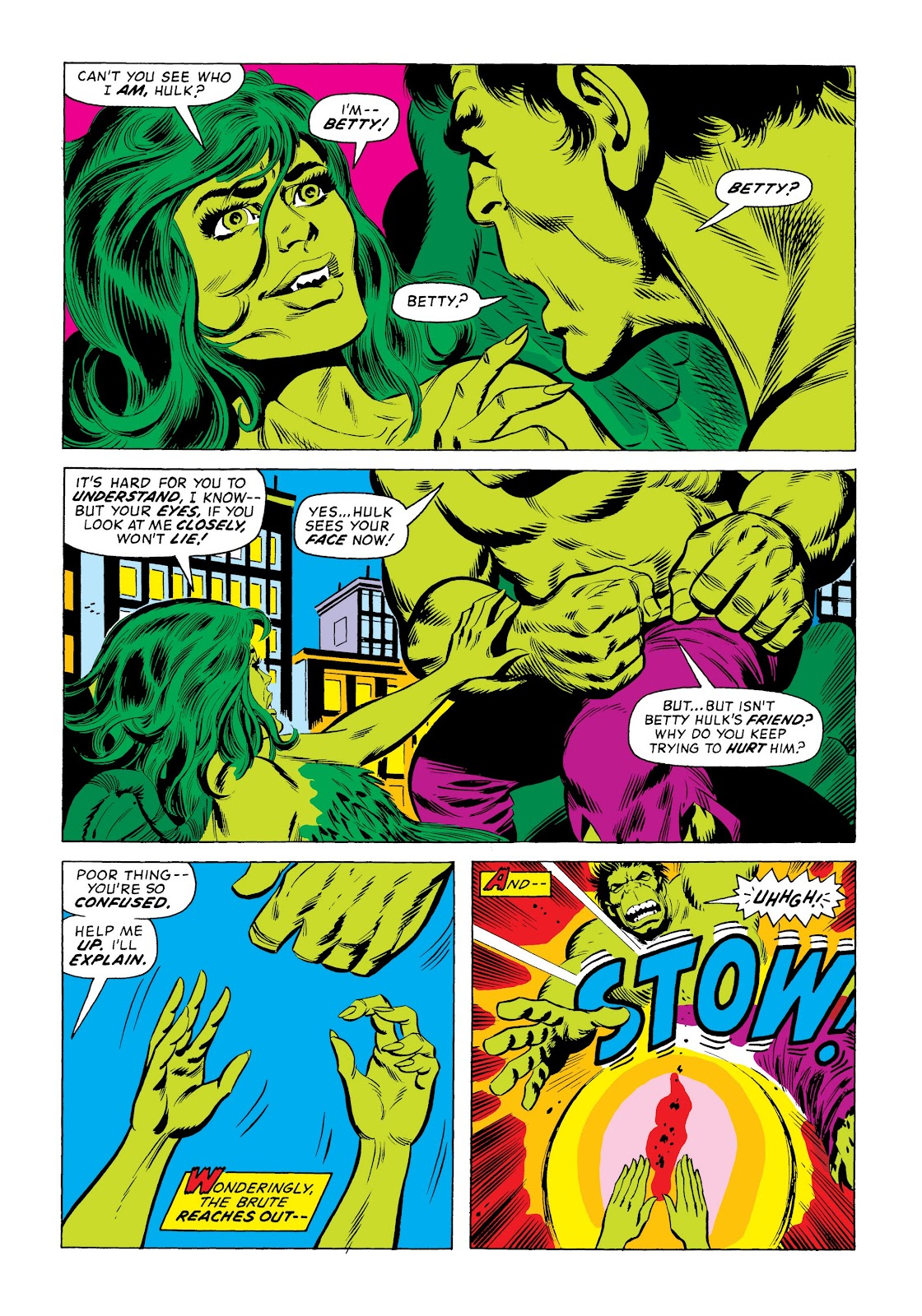 Read online Marvel Masterworks: The Incredible Hulk comic -  Issue # TPB 9 (Part 3) - 55