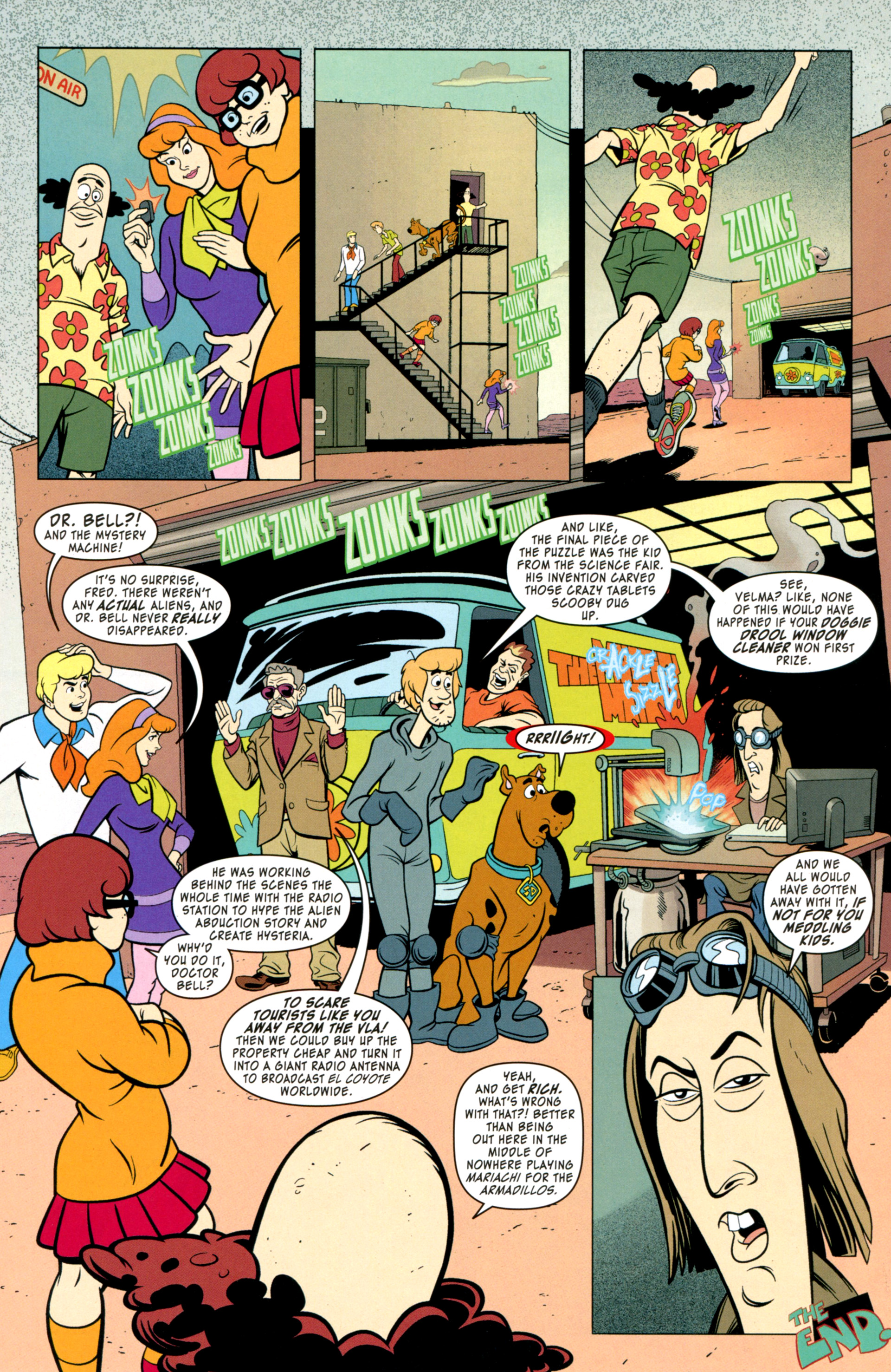 Read online Scooby-Doo: Where Are You? comic -  Issue #34 - 14