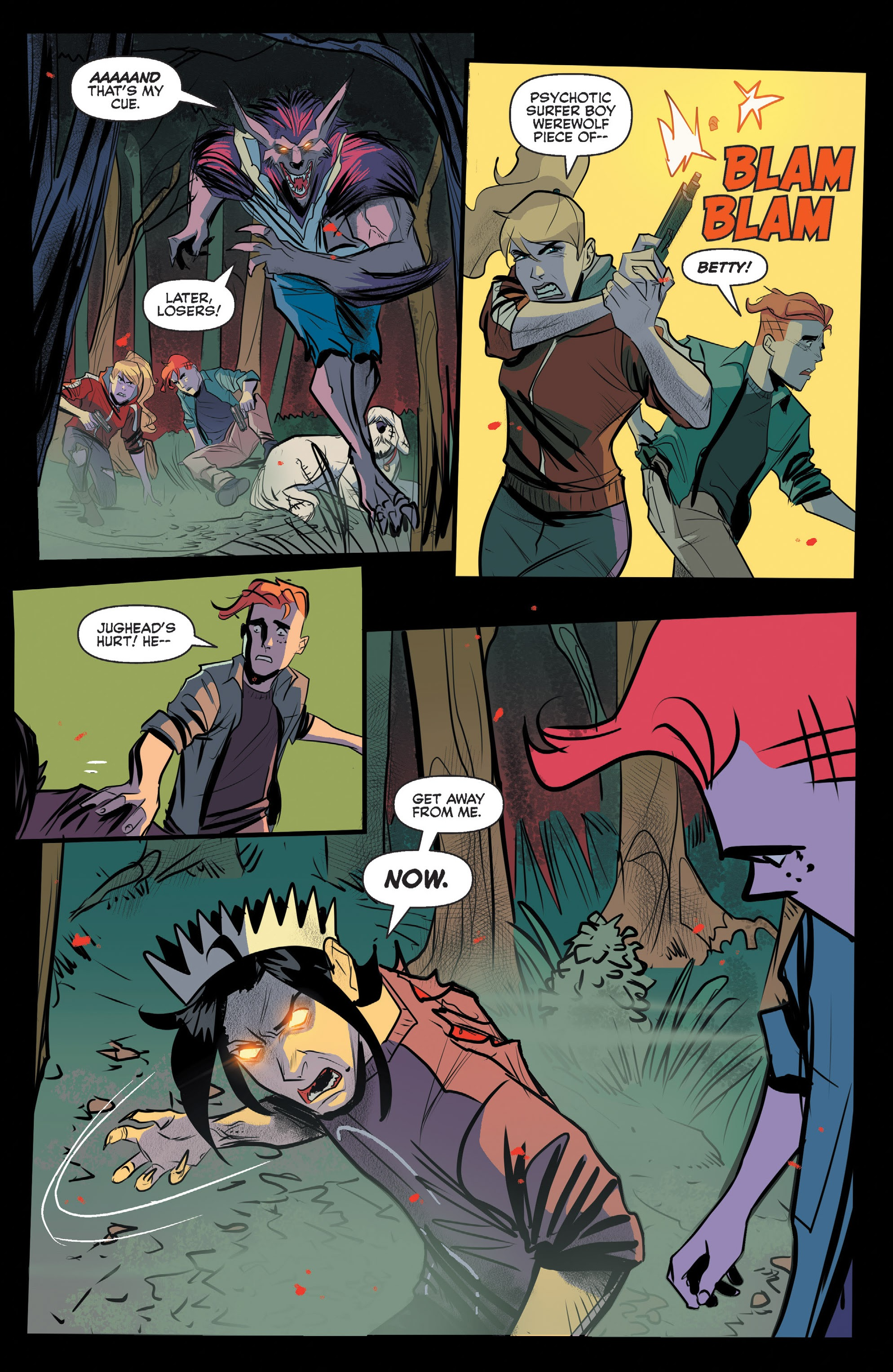 Jughead The Hunger #12 #13 - English 19