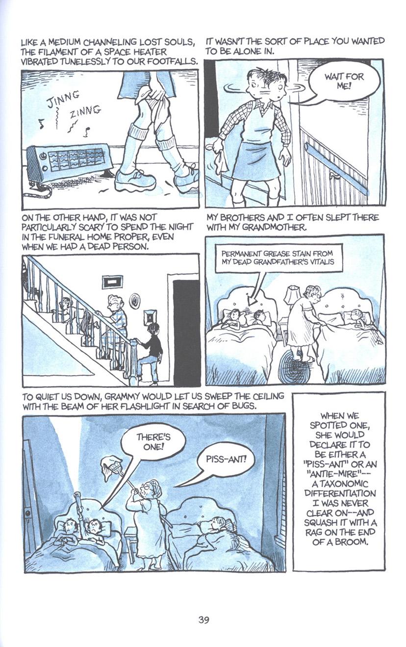 Read online Fun Home: A Family Tragicomic comic -  Issue # TPB - 46