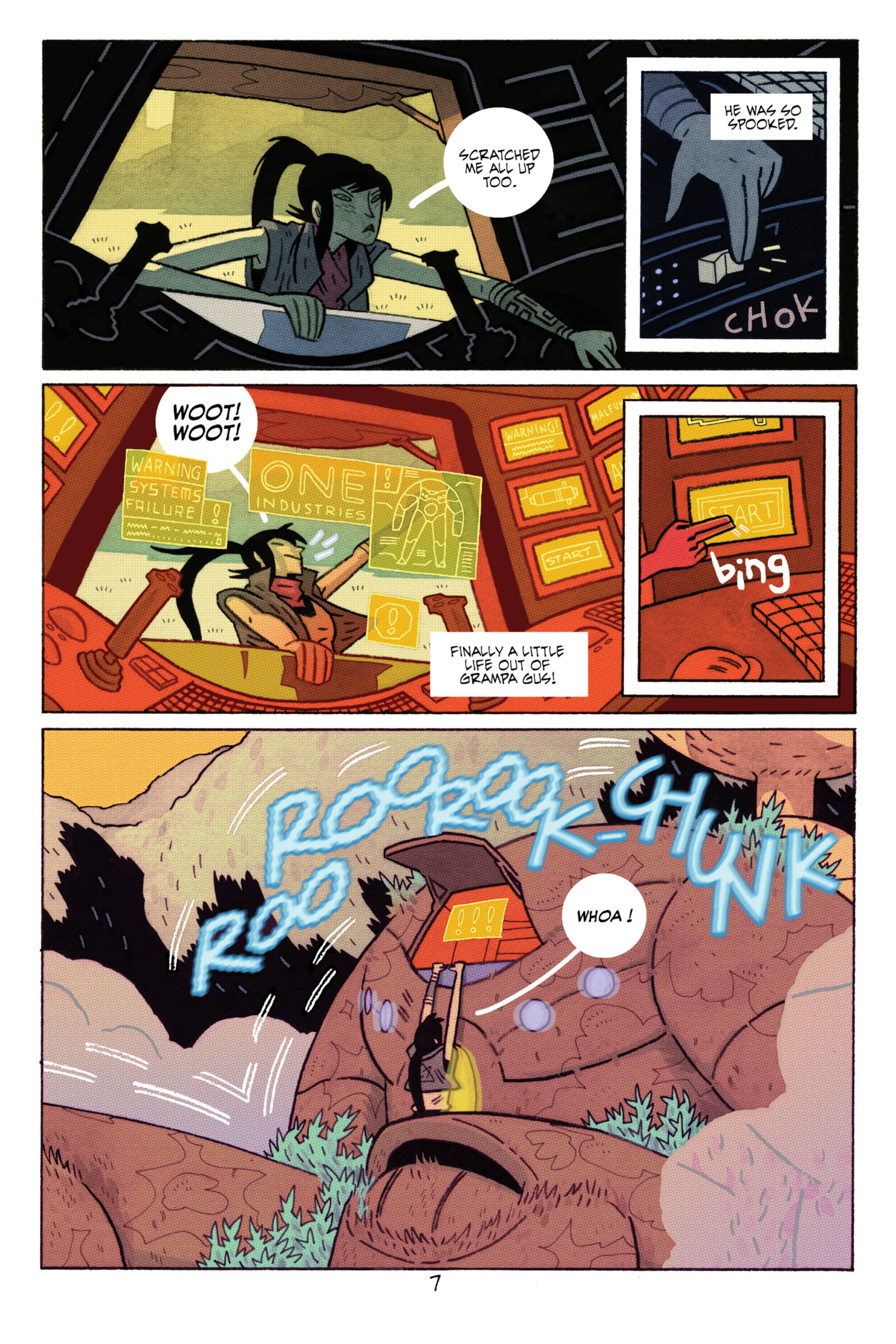 Read online ApocalyptiGirl: An Aria for the End Times comic -  Issue #ApocalyptiGirl: An Aria for the End Times Full - 15