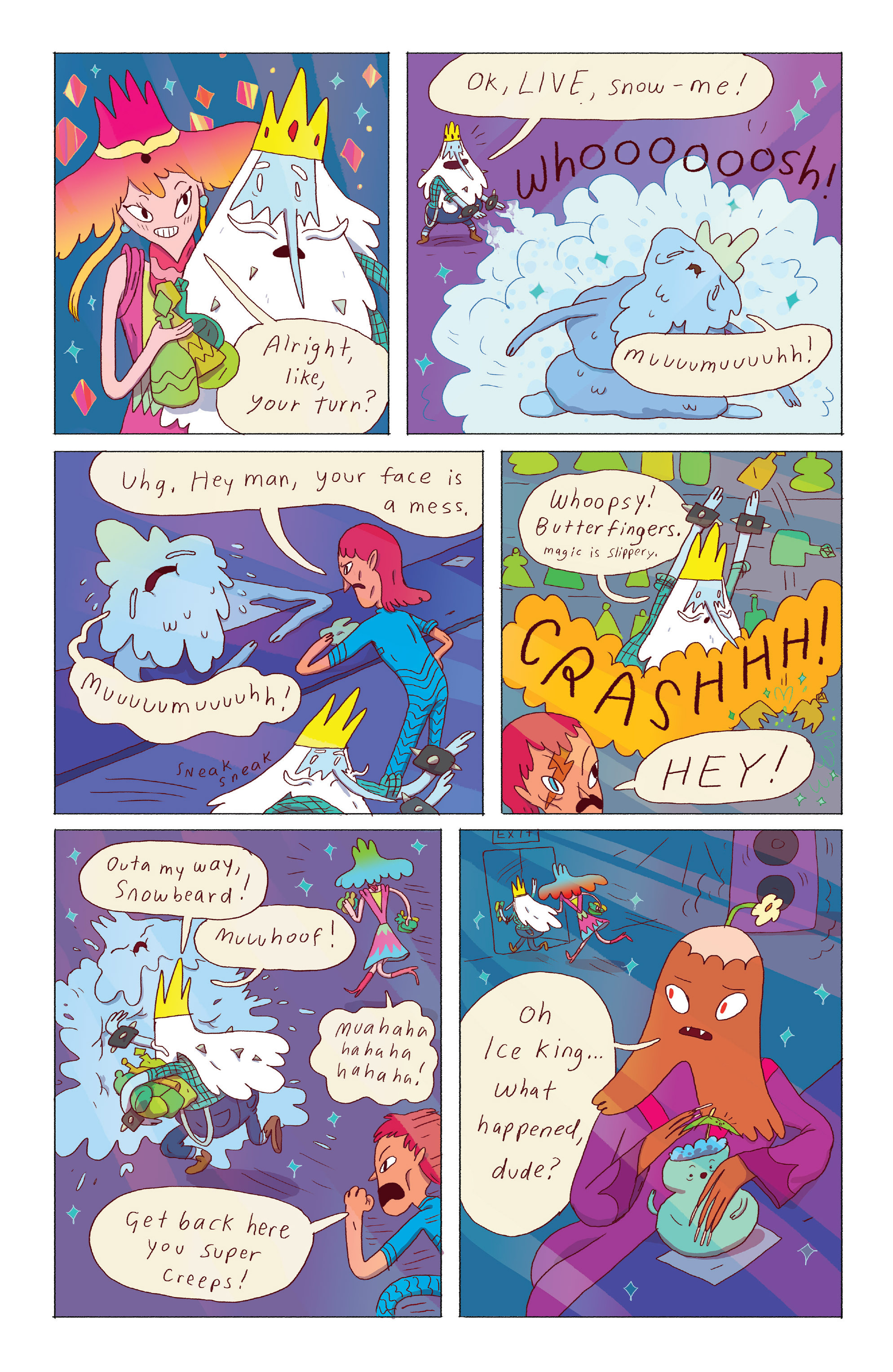 Read online Adventure Time: Ice King comic -  Issue #3 - 13