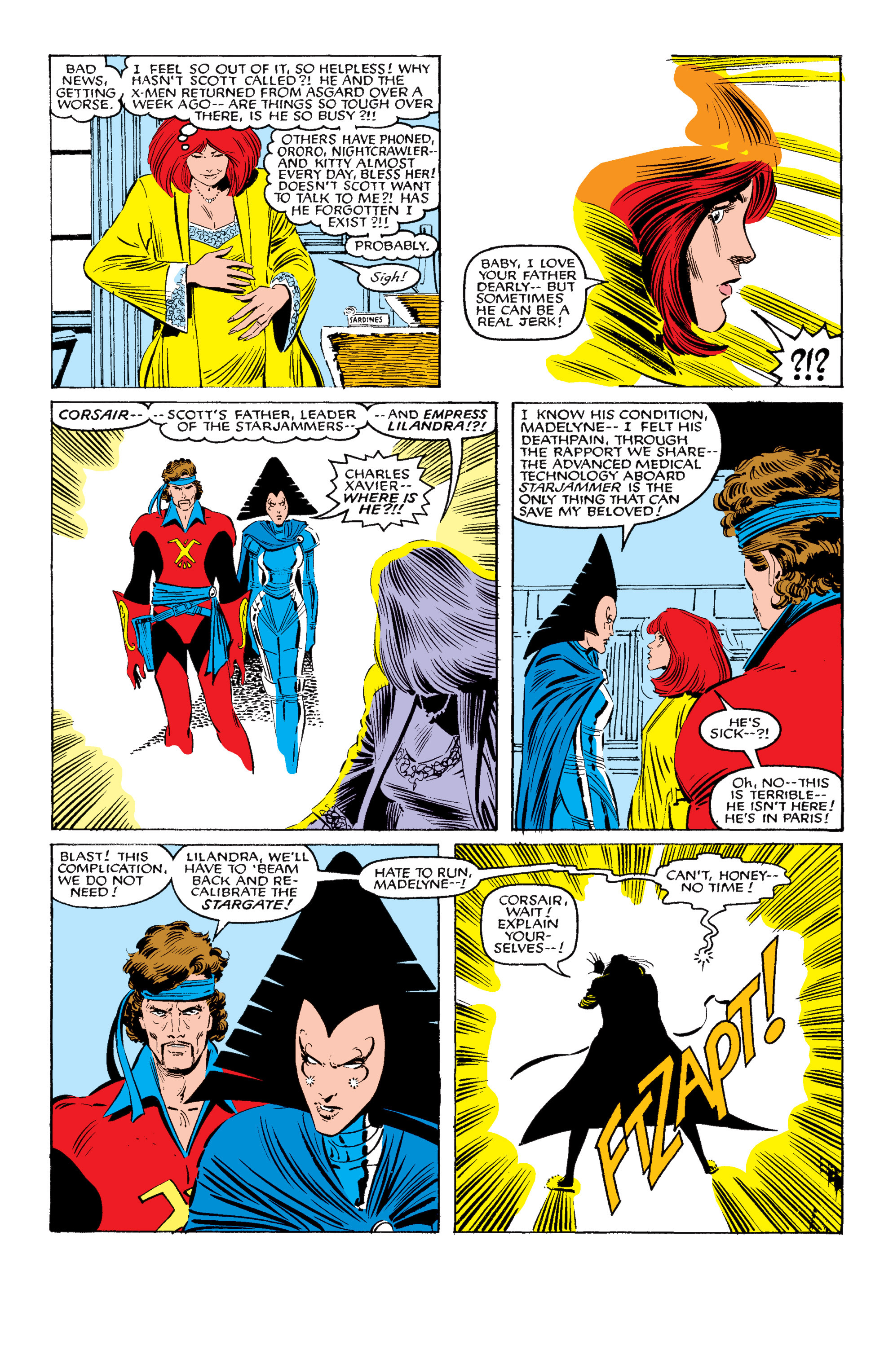 Read online Uncanny X-Men (1963) comic -  Issue #200 - 21